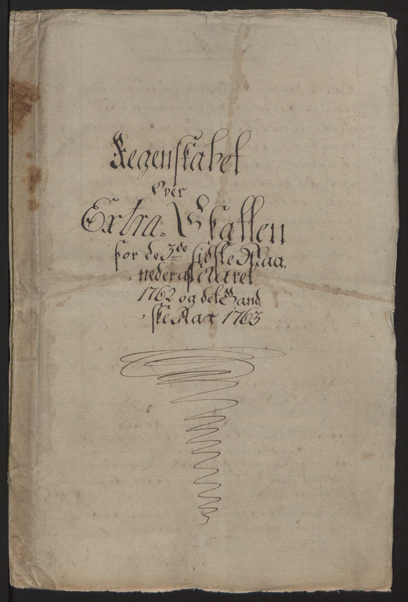 RA, Rentekammeret inntil 1814, Reviderte regnskaper, Fogderegnskap, R63/L4420: Ekstraskatten Inderøy, 1762-1772, s. 5