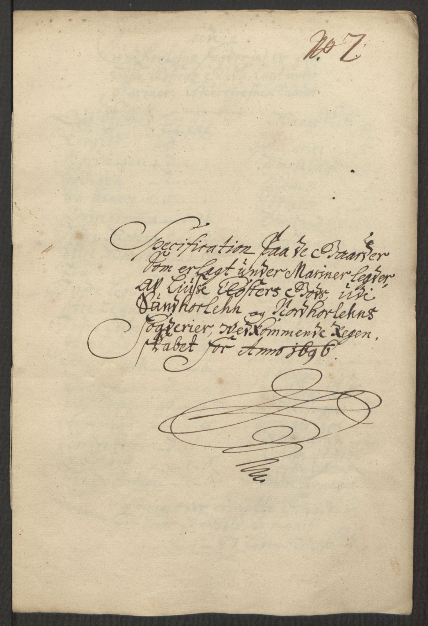 RA, Rentekammeret inntil 1814, Reviderte regnskaper, Fogderegnskap, R50/L3159: Fogderegnskap Lyse kloster, 1691-1709, s. 57