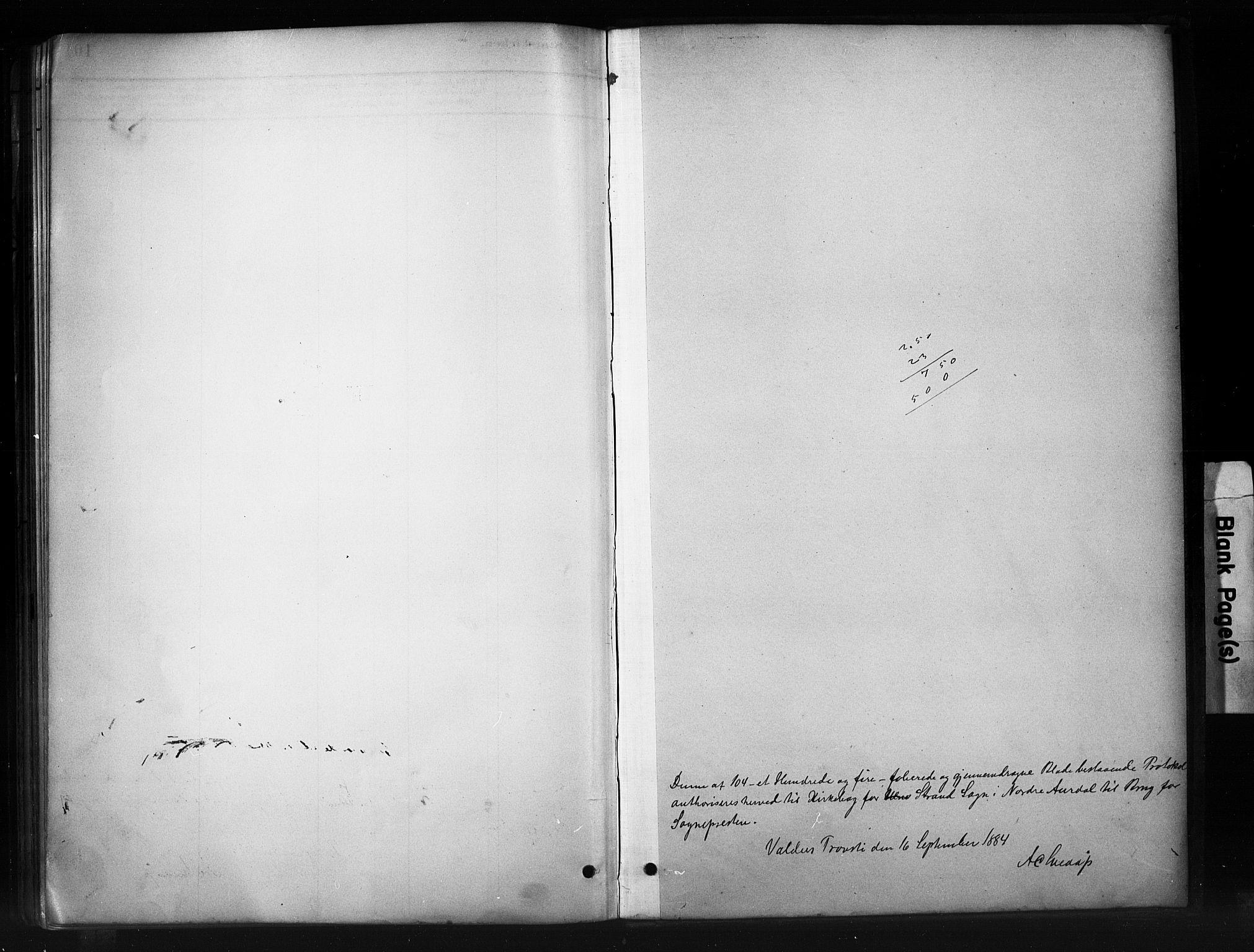 SAH, Nord-Aurdal prestekontor, Ministerialbok nr. 10, 1883-1896