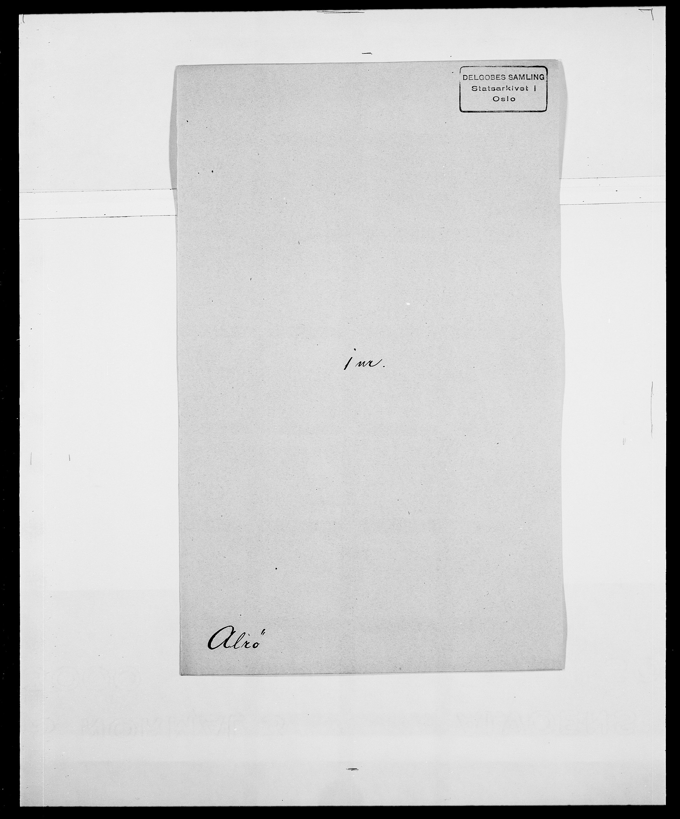 SAO, Delgobe, Charles Antoine - samling, D/Da/L0001: Aabye - Angerman, s. 452