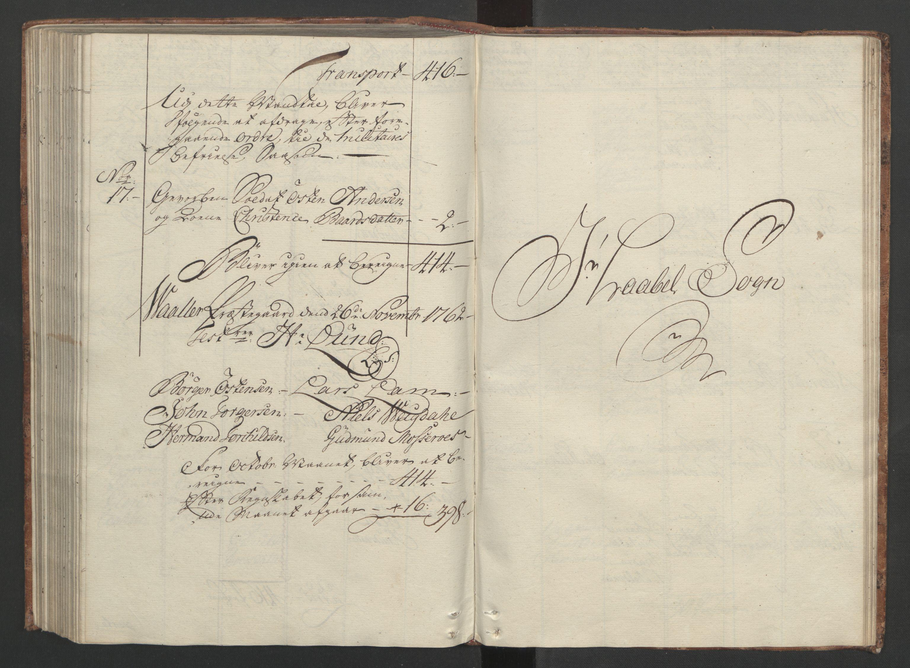 RA, Rentekammeret inntil 1814, Reviderte regnskaper, Fogderegnskap, R04/L0260: Ekstraskatten Moss, Onsøy, Tune, Veme og Åbygge, 1762, s. 258