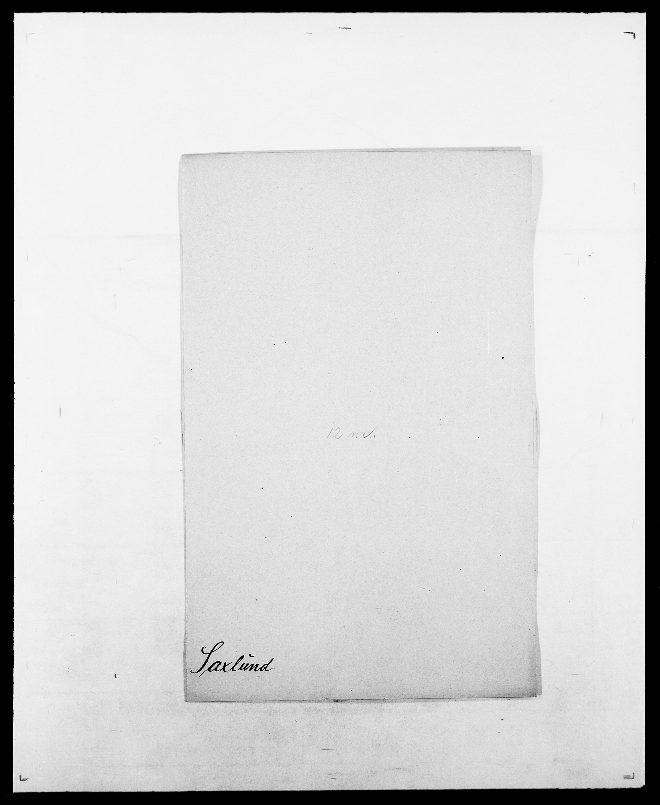 SAO, Delgobe, Charles Antoine - samling, D/Da/L0034: Saabye - Schmincke, s. 244