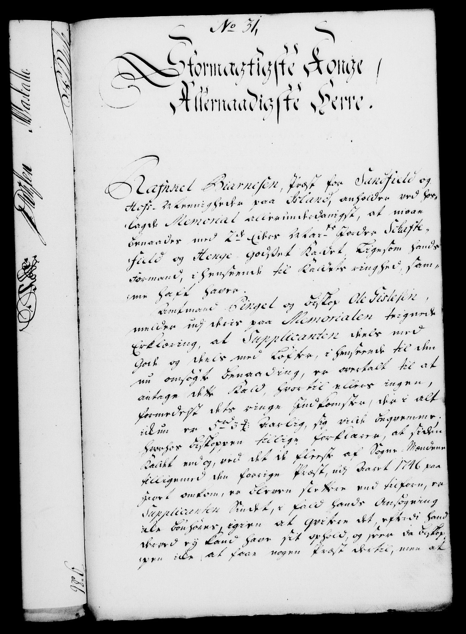 RA, Rentekammeret, Kammerkanselliet, G/Gf/Gfa/L0030: Norsk relasjons- og resolusjonsprotokoll (merket RK 52.30), 1748, s. 249