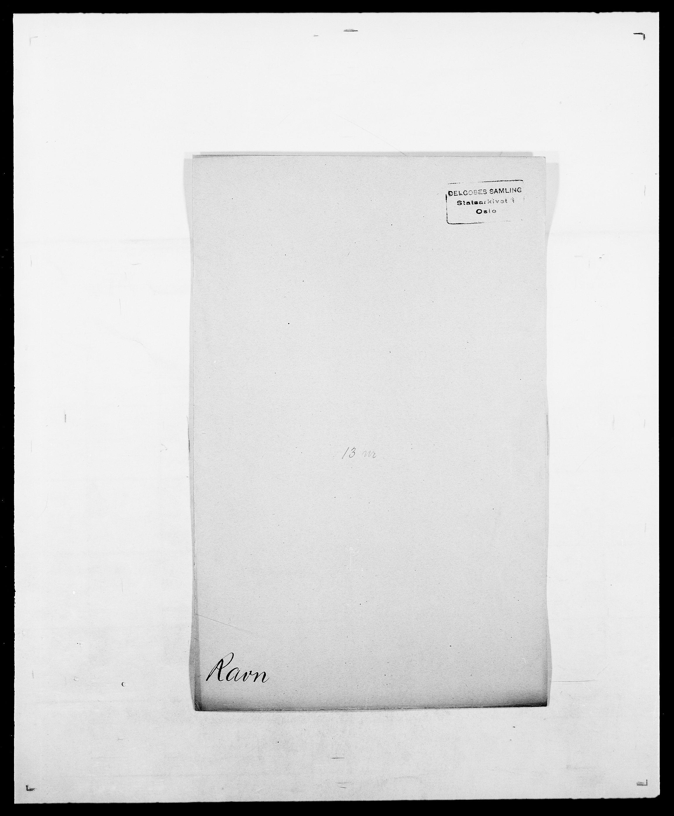 SAO, Delgobe, Charles Antoine - samling, D/Da/L0032: Rabakovsky - Rivertz, s. 202