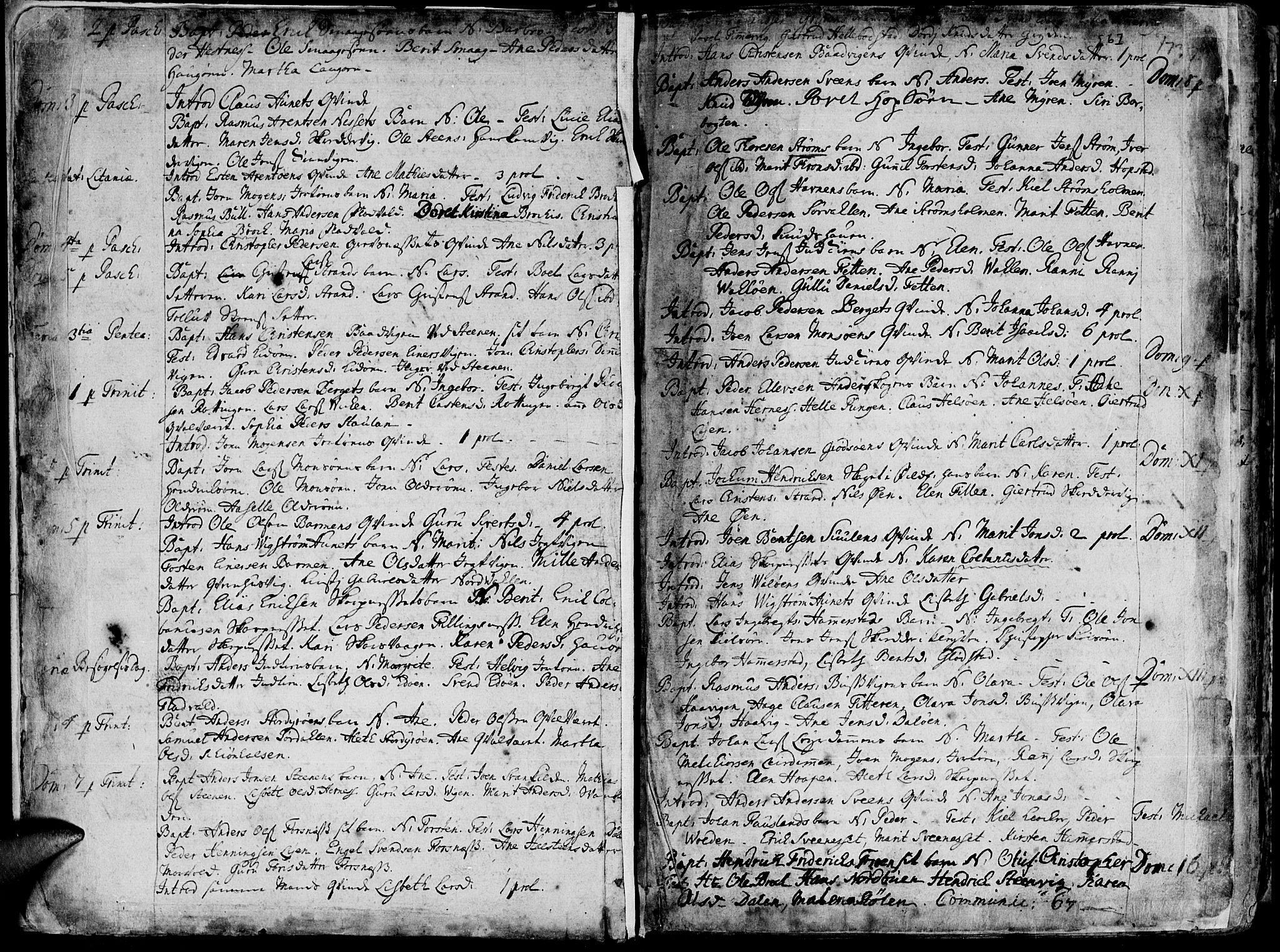 SAT, Ministerialprotokoller, klokkerbøker og fødselsregistre - Sør-Trøndelag, 634/L0525: Ministerialbok nr. 634A01, 1736-1775, s. 6