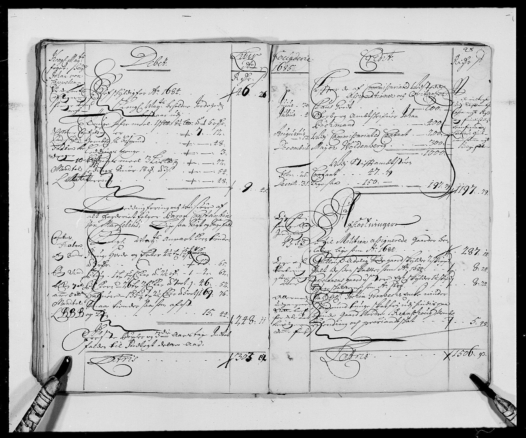 RA, Rentekammeret inntil 1814, Reviderte regnskaper, Fogderegnskap, R27/L1686: Fogderegnskap Lier, 1678-1686, s. 31