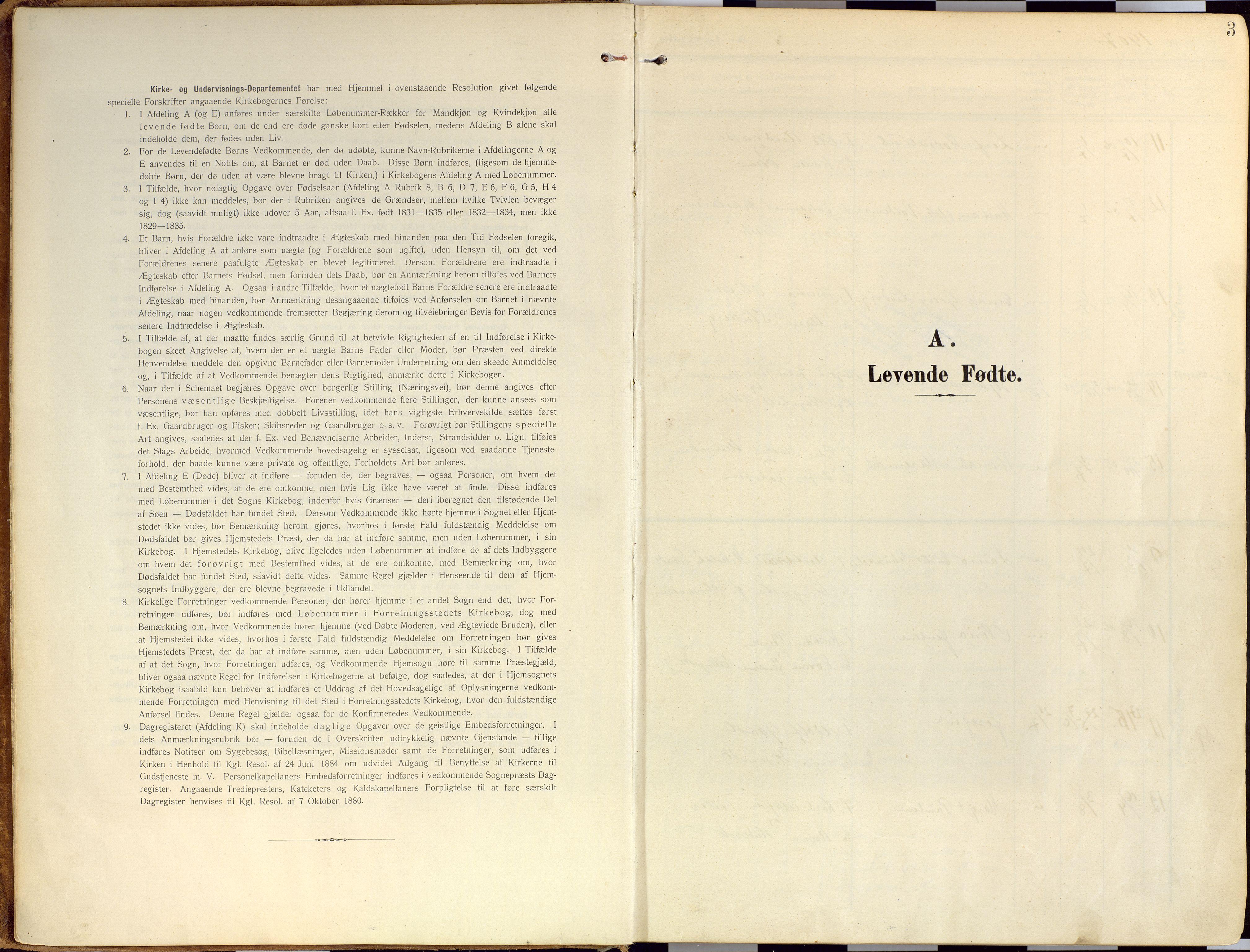 SATØ, Loppa sokneprestkontor, H/Ha/L0010kirke: Ministerialbok nr. 10, 1907-1922, s. 3