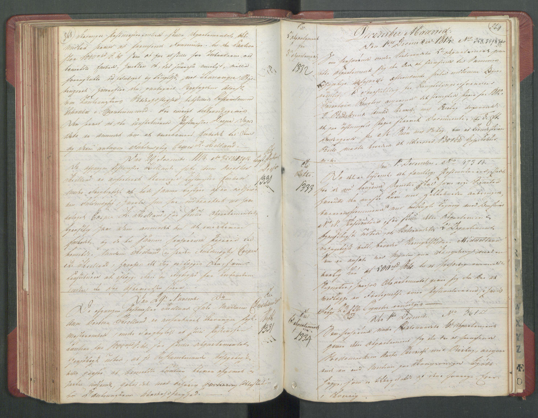 RA, Departementene i 1814, Fb/L0028: Kopibok 1-1371, 1814, s. 348-349