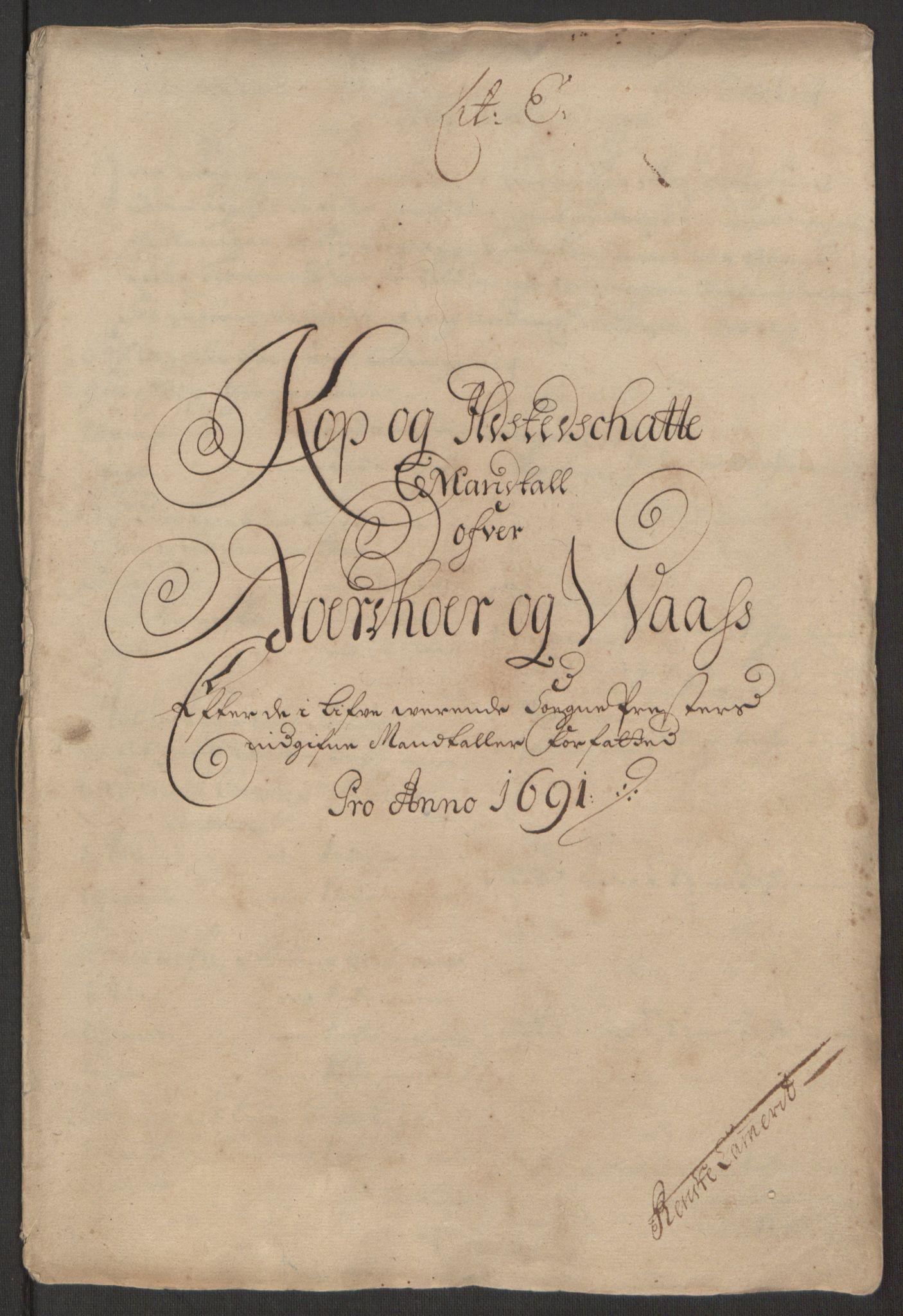RA, Rentekammeret inntil 1814, Reviderte regnskaper, Fogderegnskap, R51/L3181: Fogderegnskap Nordhordland og Voss, 1691-1692, s. 148