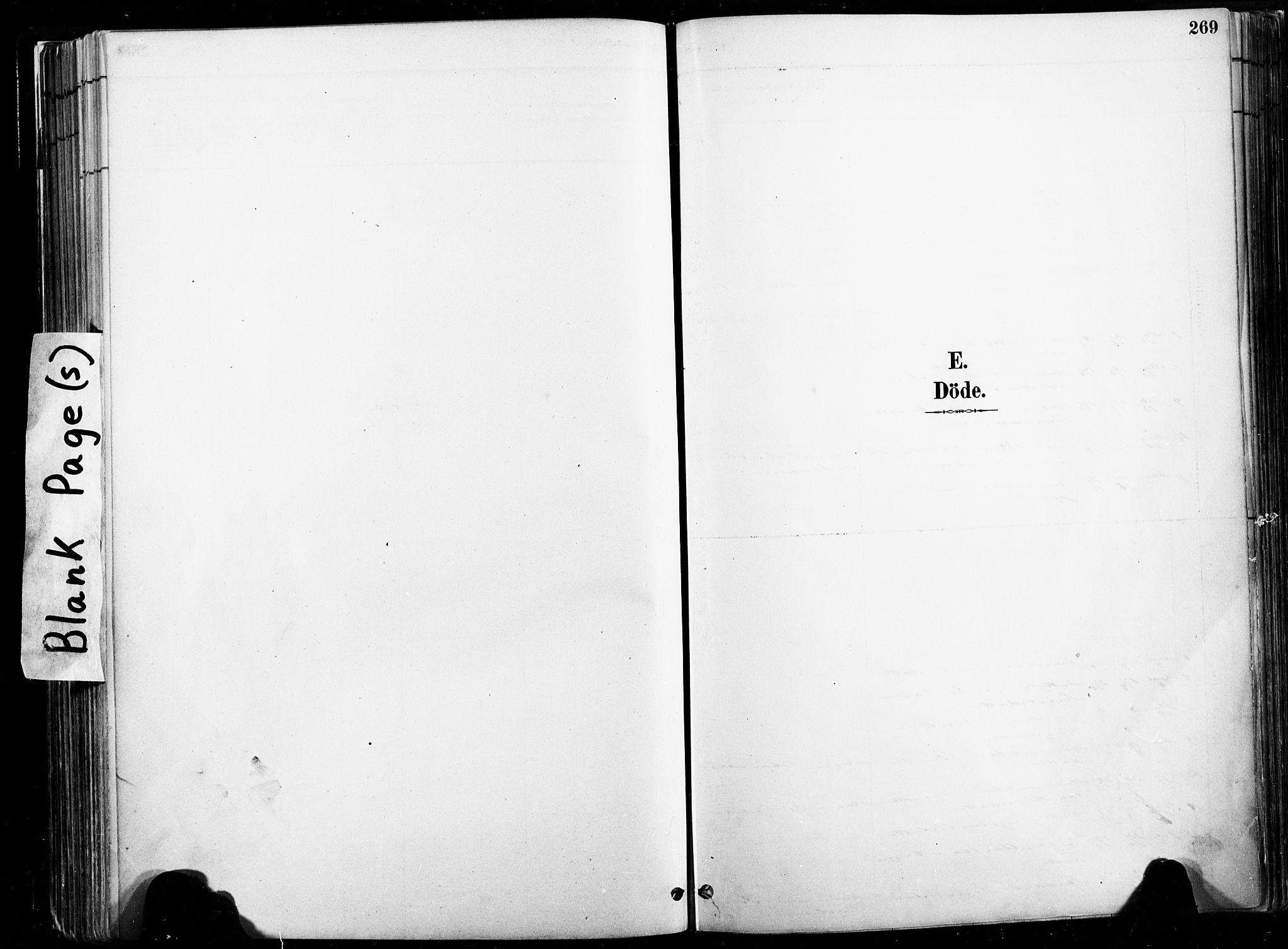 SAT, Ministerialprotokoller, klokkerbøker og fødselsregistre - Nord-Trøndelag, 735/L0351: Ministerialbok nr. 735A10, 1884-1908, s. 269