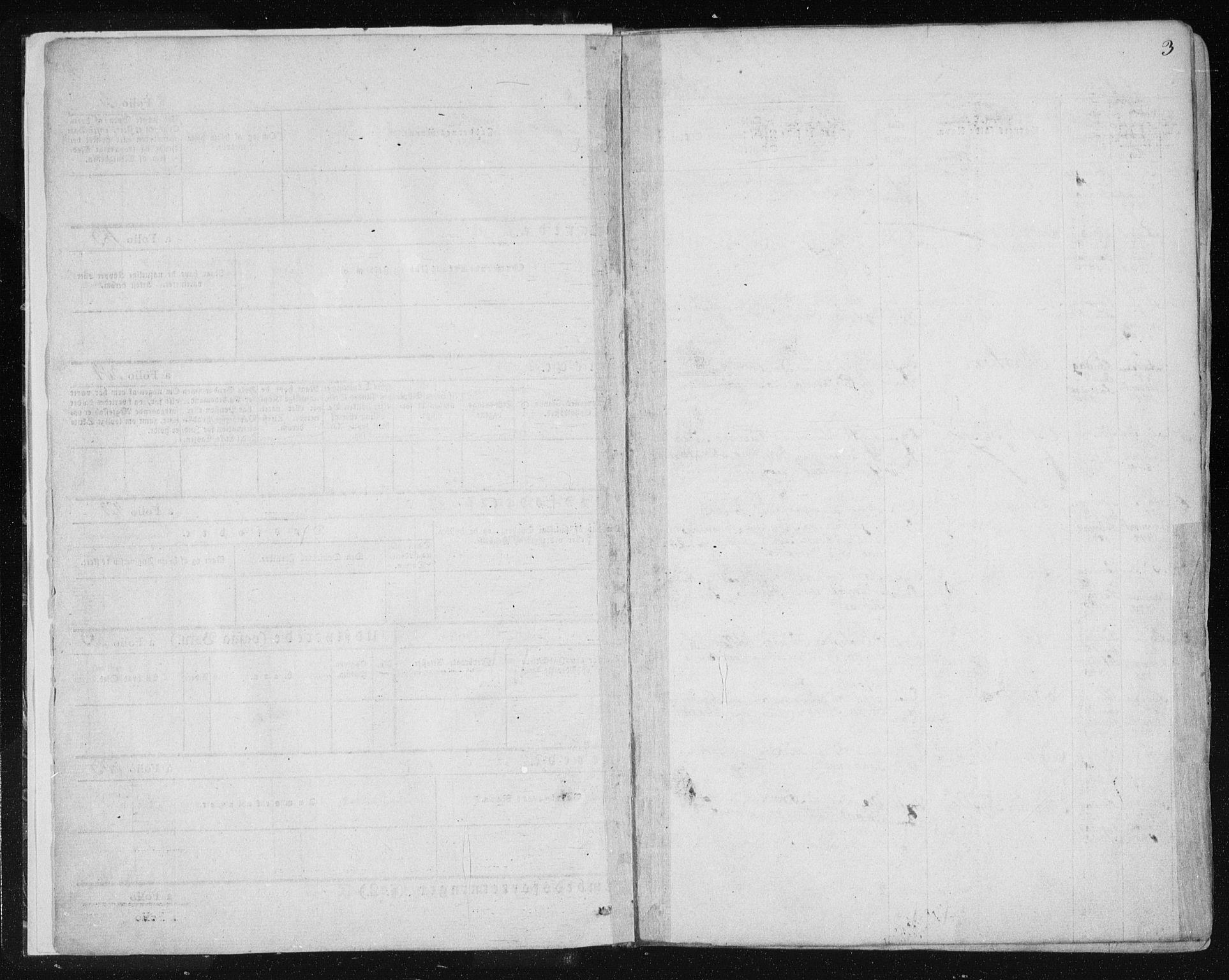 SAT, Ministerialprotokoller, klokkerbøker og fødselsregistre - Sør-Trøndelag, 681/L0931: Ministerialbok nr. 681A09, 1845-1859, s. 3