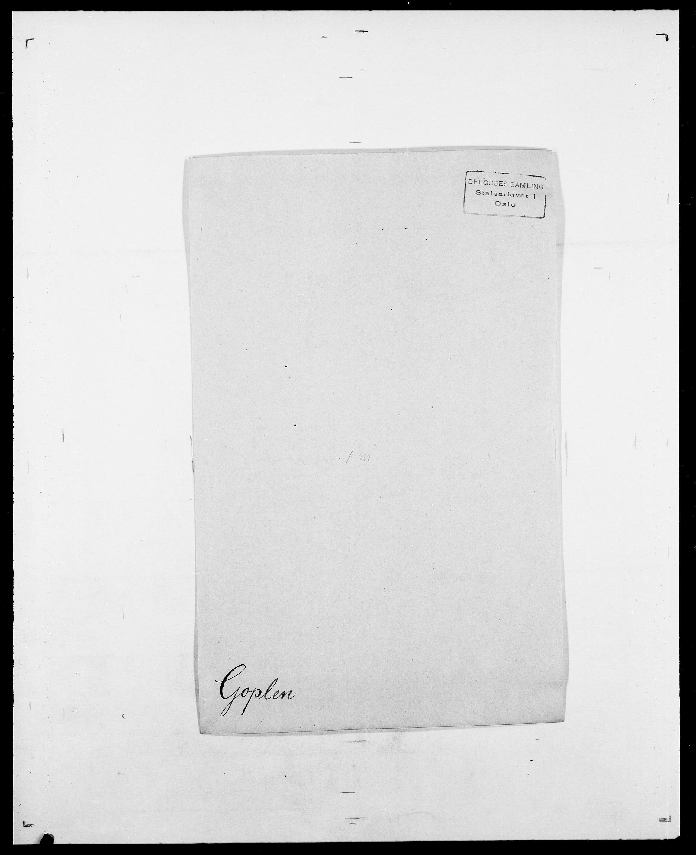 SAO, Delgobe, Charles Antoine - samling, D/Da/L0014: Giebdhausen - Grip, s. 381