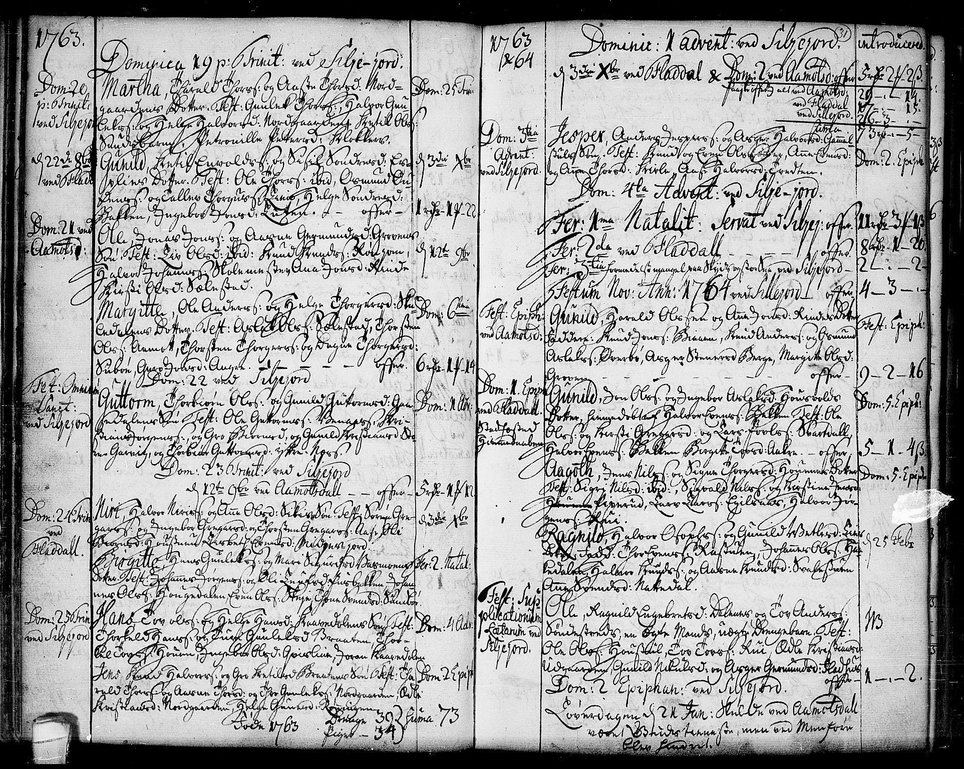 SAKO, Seljord kirkebøker, F/Fa/L0007: Ministerialbok nr. I 7, 1755-1800, s. 31