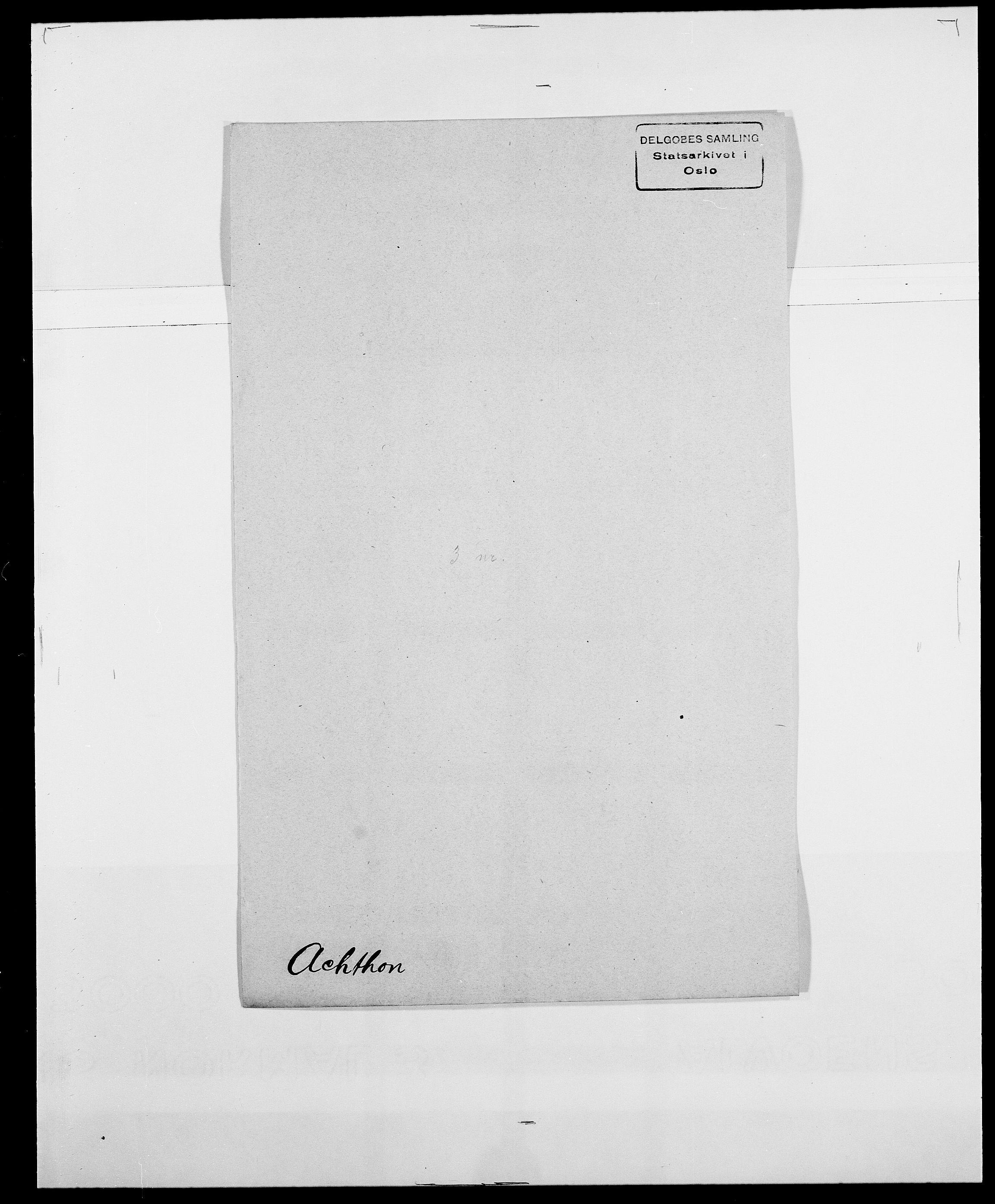 SAO, Delgobe, Charles Antoine - samling, D/Da/L0001: Aabye - Angerman, s. 246