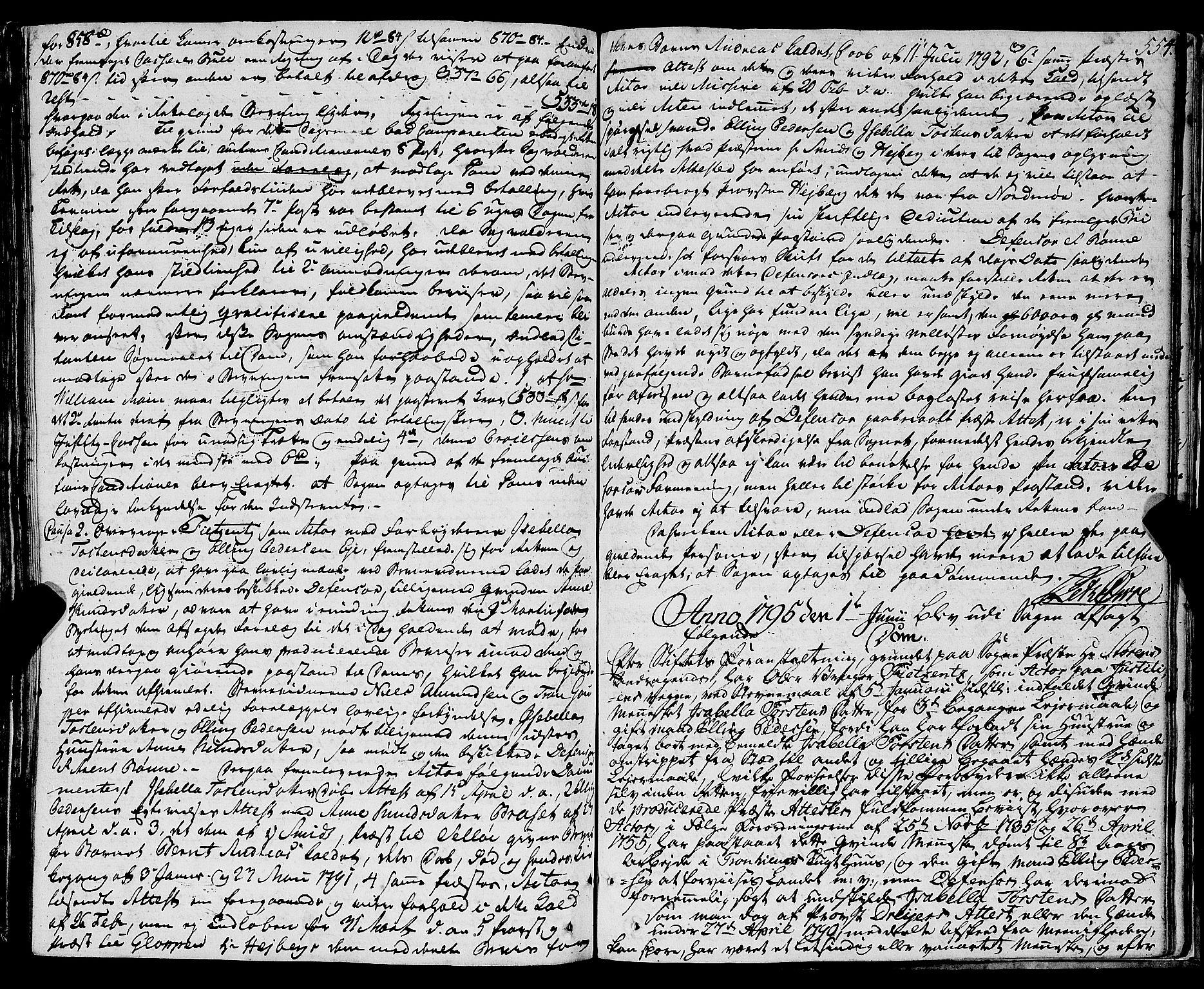 SAT, Molde byfogd, 1/1A/L0001: Justisprotokoll, 1764-1796, s. 555