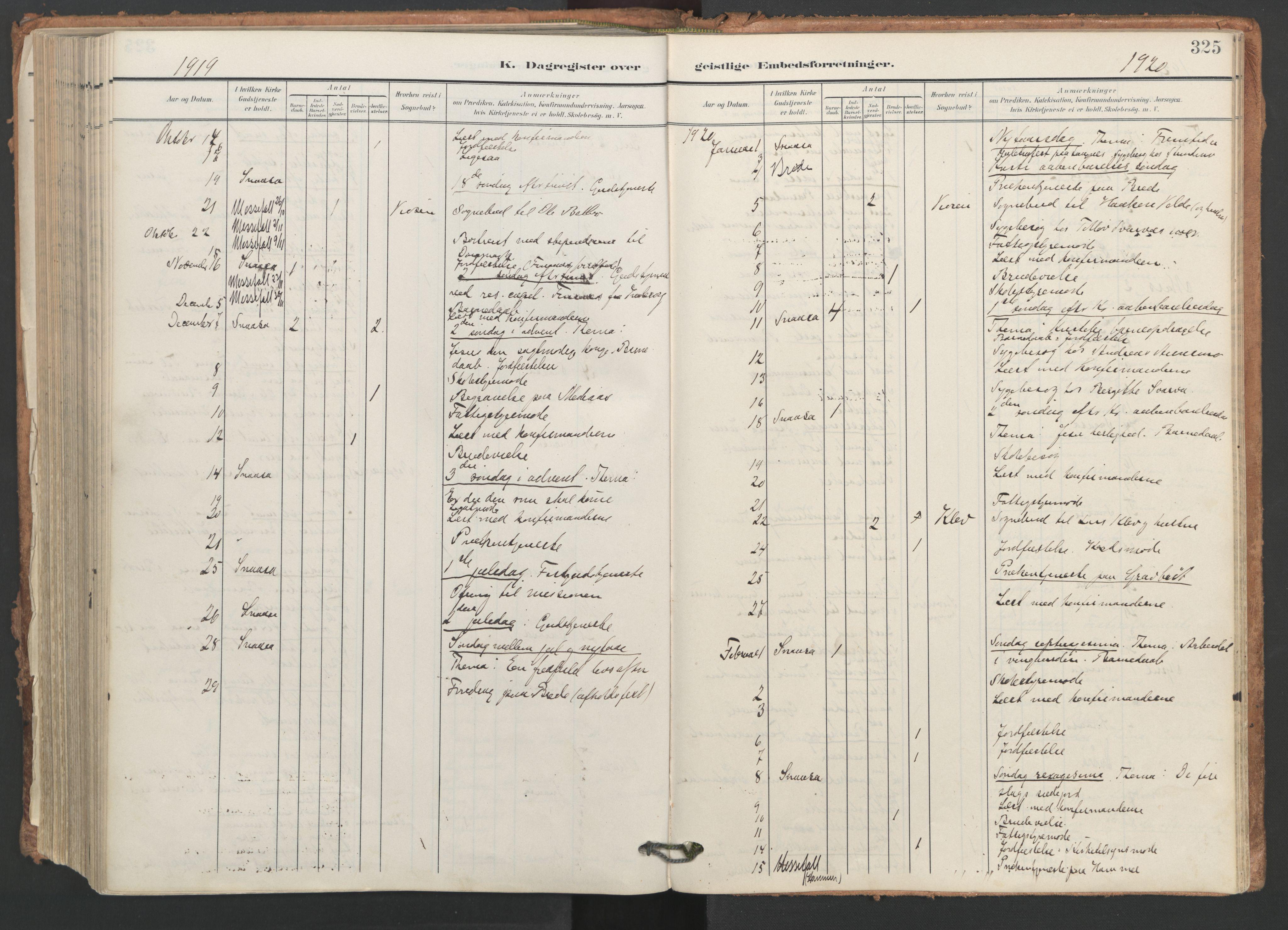 SAT, Ministerialprotokoller, klokkerbøker og fødselsregistre - Nord-Trøndelag, 749/L0477: Ministerialbok nr. 749A11, 1902-1927, s. 325