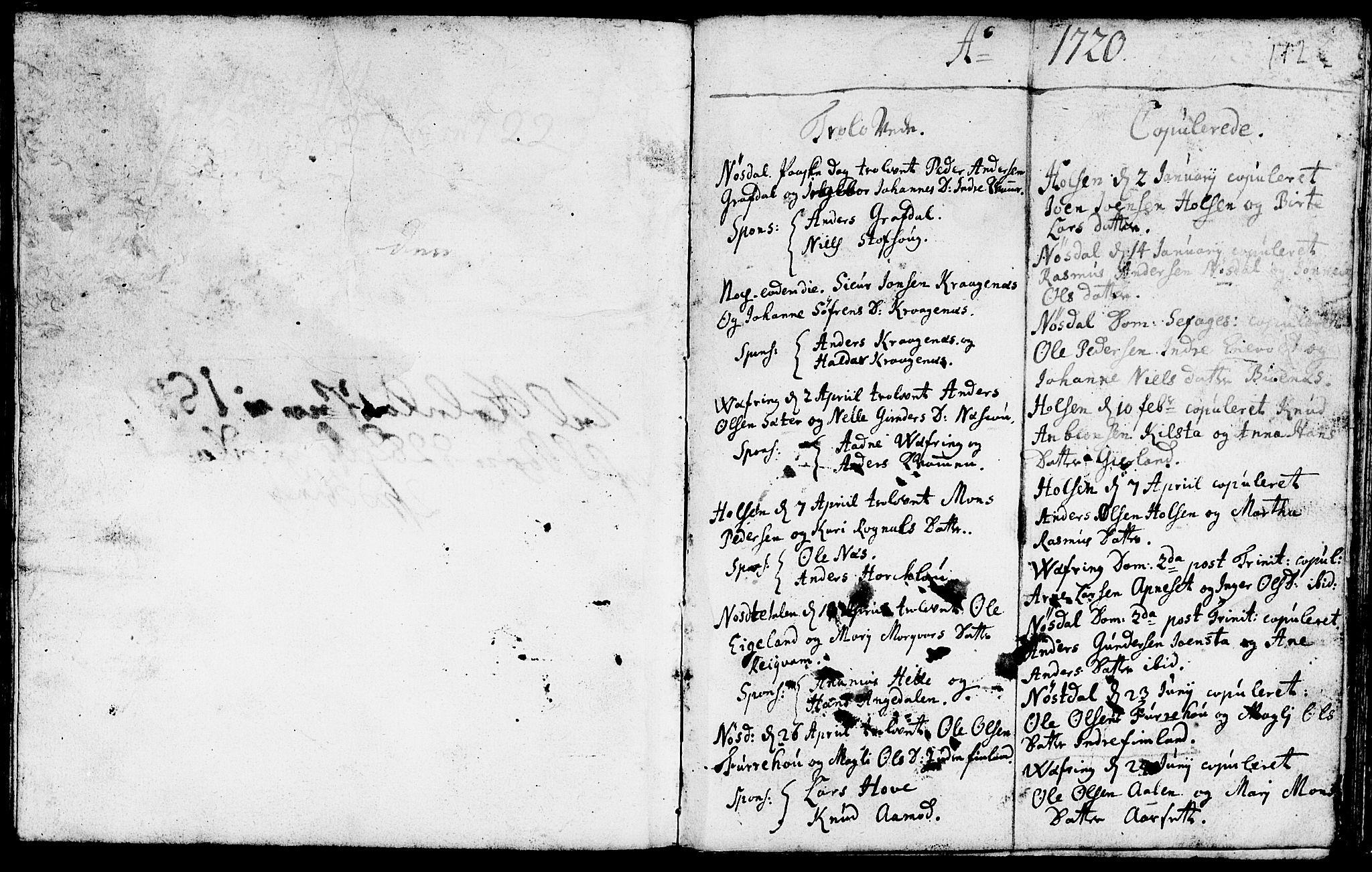 SAB, Førde Sokneprestembete, H/Haa: Ministerialbok nr. A 1, 1720-1727, s. 112