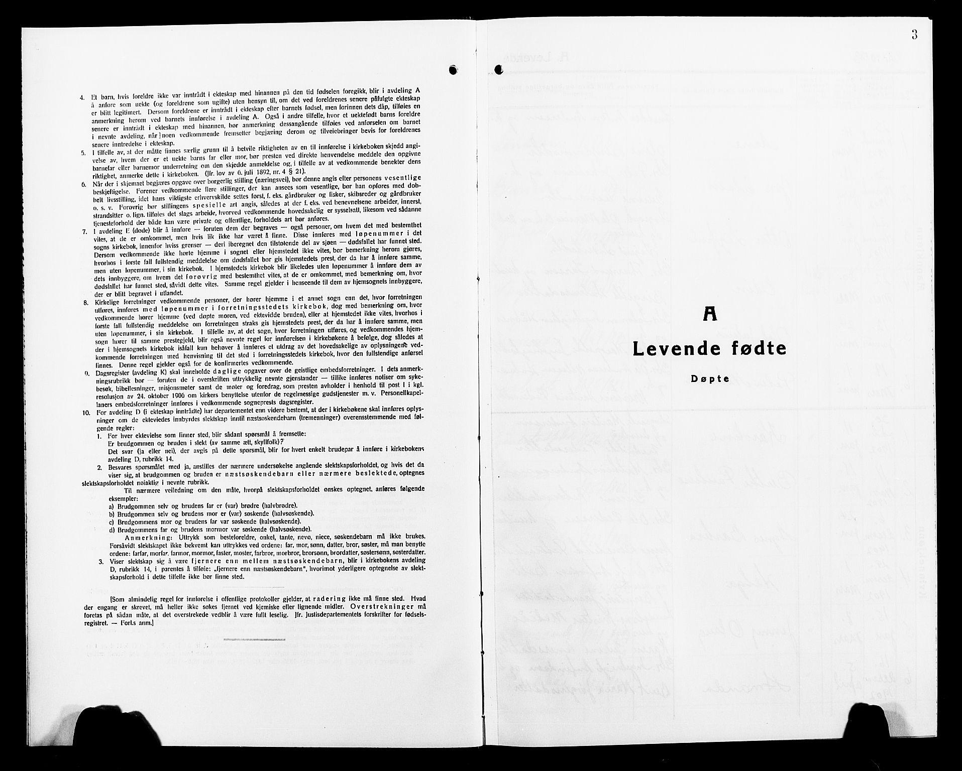 SAT, Ministerialprotokoller, klokkerbøker og fødselsregistre - Nord-Trøndelag, 749/L0488: Ministerialbok nr. 749D04, 1903-1915, s. 3