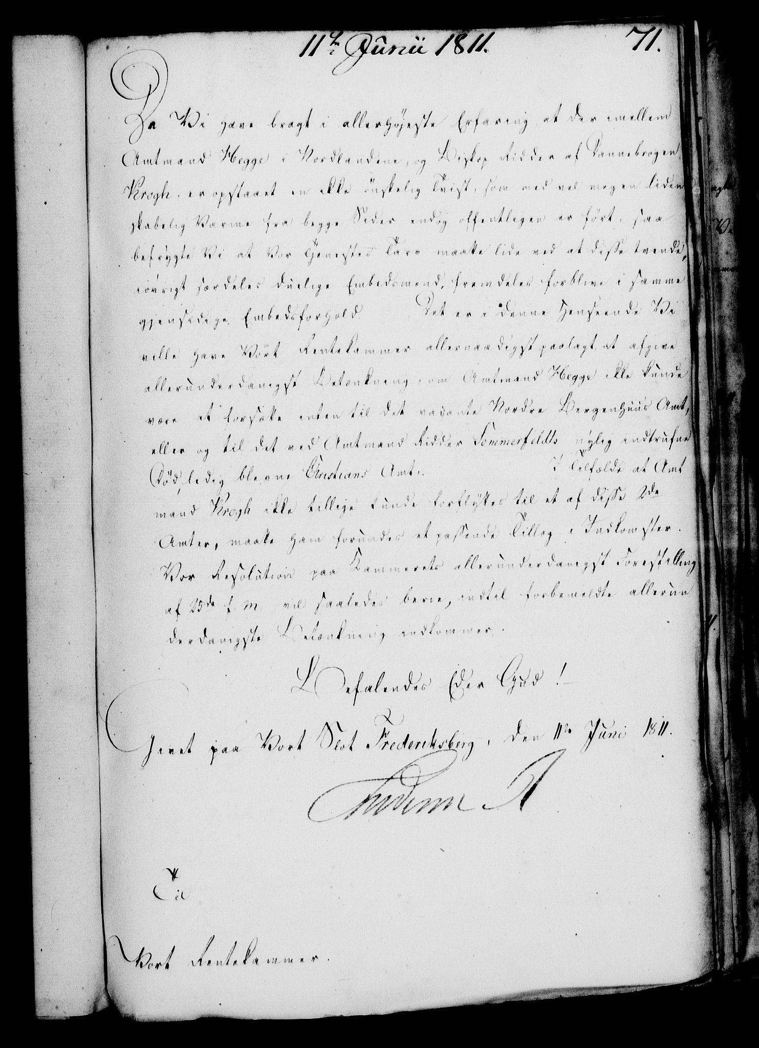RA, Rentekammeret, Kammerkanselliet, G/Gf/Gfa/L0093: Norsk relasjons- og resolusjonsprotokoll (merket RK 52.93), 1811, s. 286