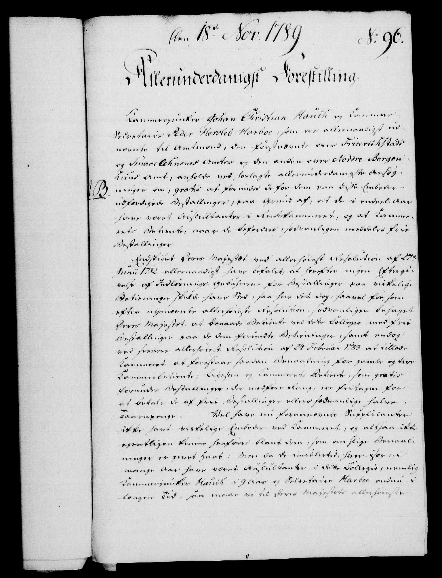 RA, Rentekammeret, Kammerkanselliet, G/Gf/Gfa/L0071: Norsk relasjons- og resolusjonsprotokoll (merket RK 52.71), 1789, s. 510