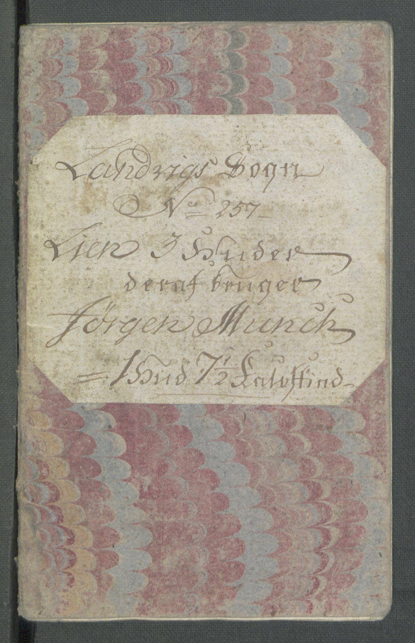 RA, Rentekammeret inntil 1814, Realistisk ordnet avdeling, Od/L0001: Oppløp, 1786-1769, s. 682