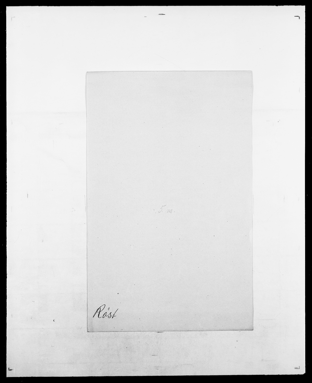 SAO, Delgobe, Charles Antoine - samling, D/Da/L0033: Roald - Røyem, s. 808