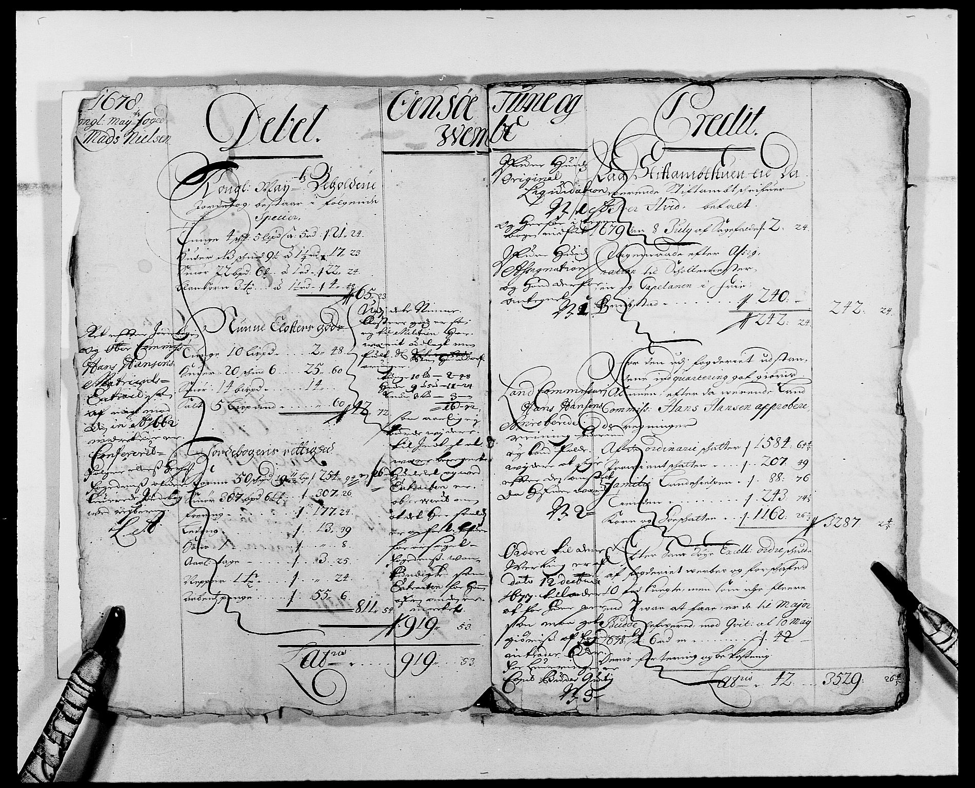 RA, Rentekammeret inntil 1814, Reviderte regnskaper, Fogderegnskap, R03/L0113: Fogderegnskap Onsøy, Tune, Veme og Åbygge fogderi, 1681-1683, s. 3
