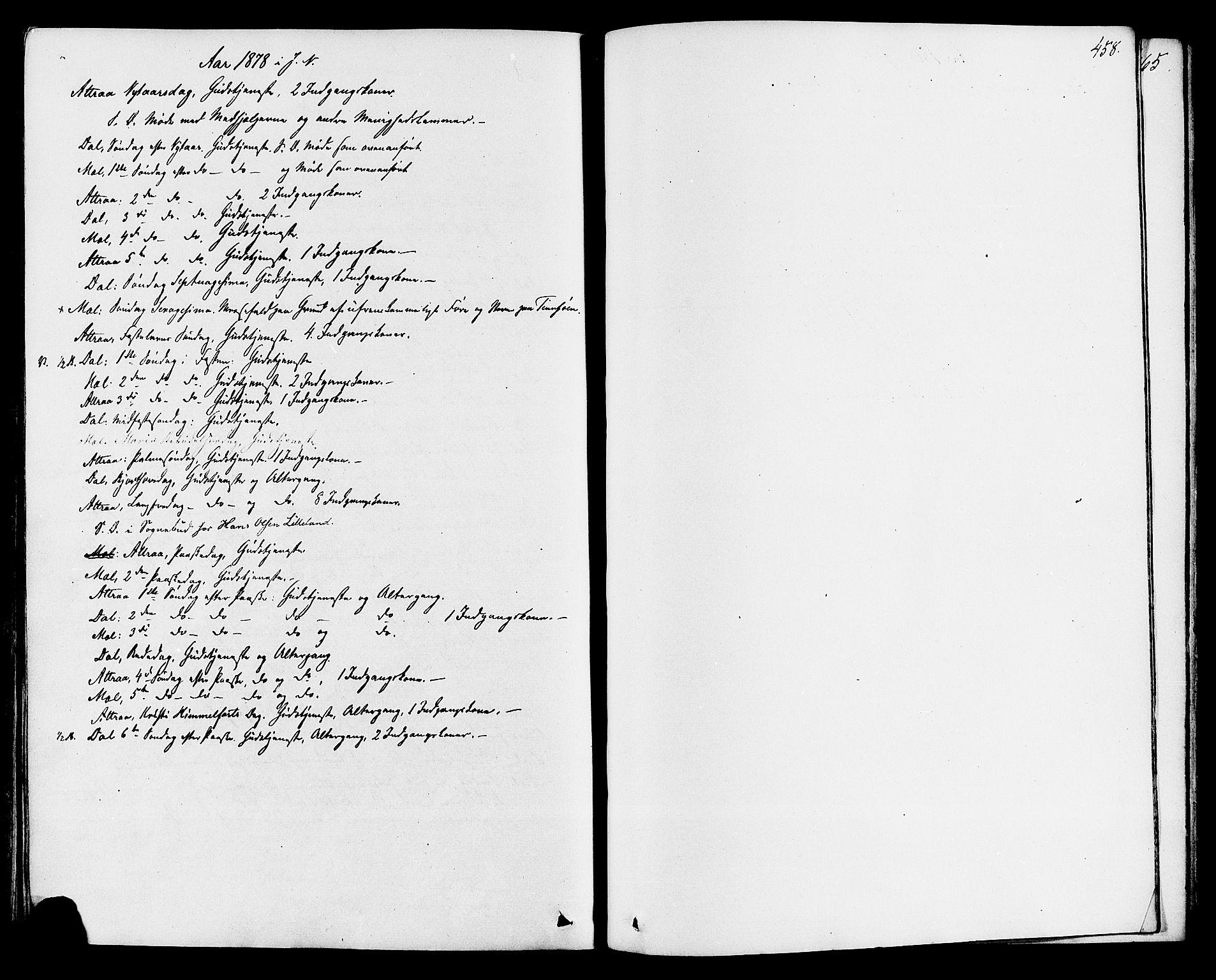 SAKO, Tinn kirkebøker, F/Fa/L0006: Ministerialbok nr. I 6, 1857-1878, s. 458