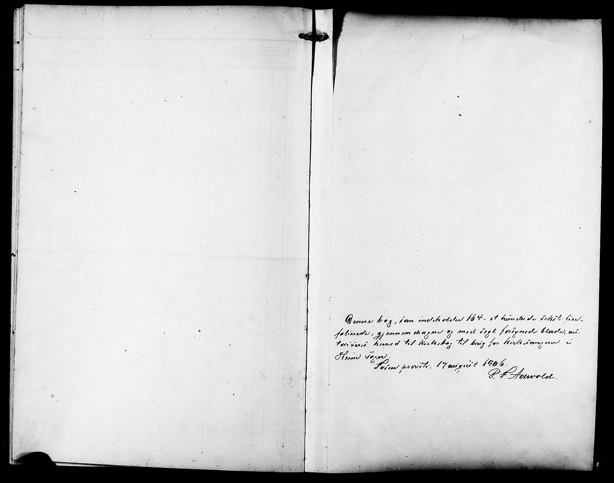 SAT, Ministerialprotokoller, klokkerbøker og fødselsregistre - Sør-Trøndelag, 633/L0520: Klokkerbok nr. 633C02, 1906-1921