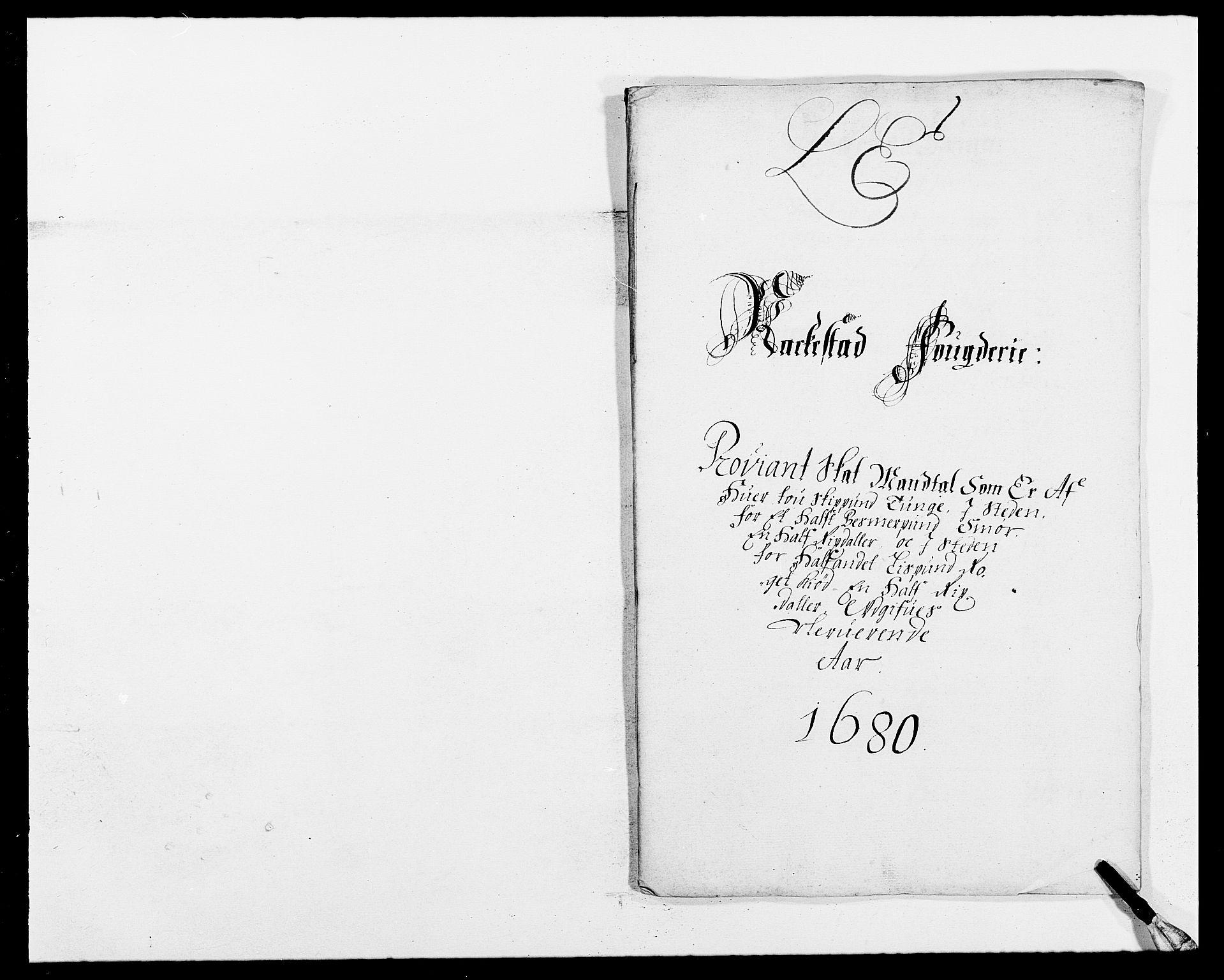 RA, Rentekammeret inntil 1814, Reviderte regnskaper, Fogderegnskap, R05/L0272: Fogderegnskap Rakkestad, 1680-1681, s. 138