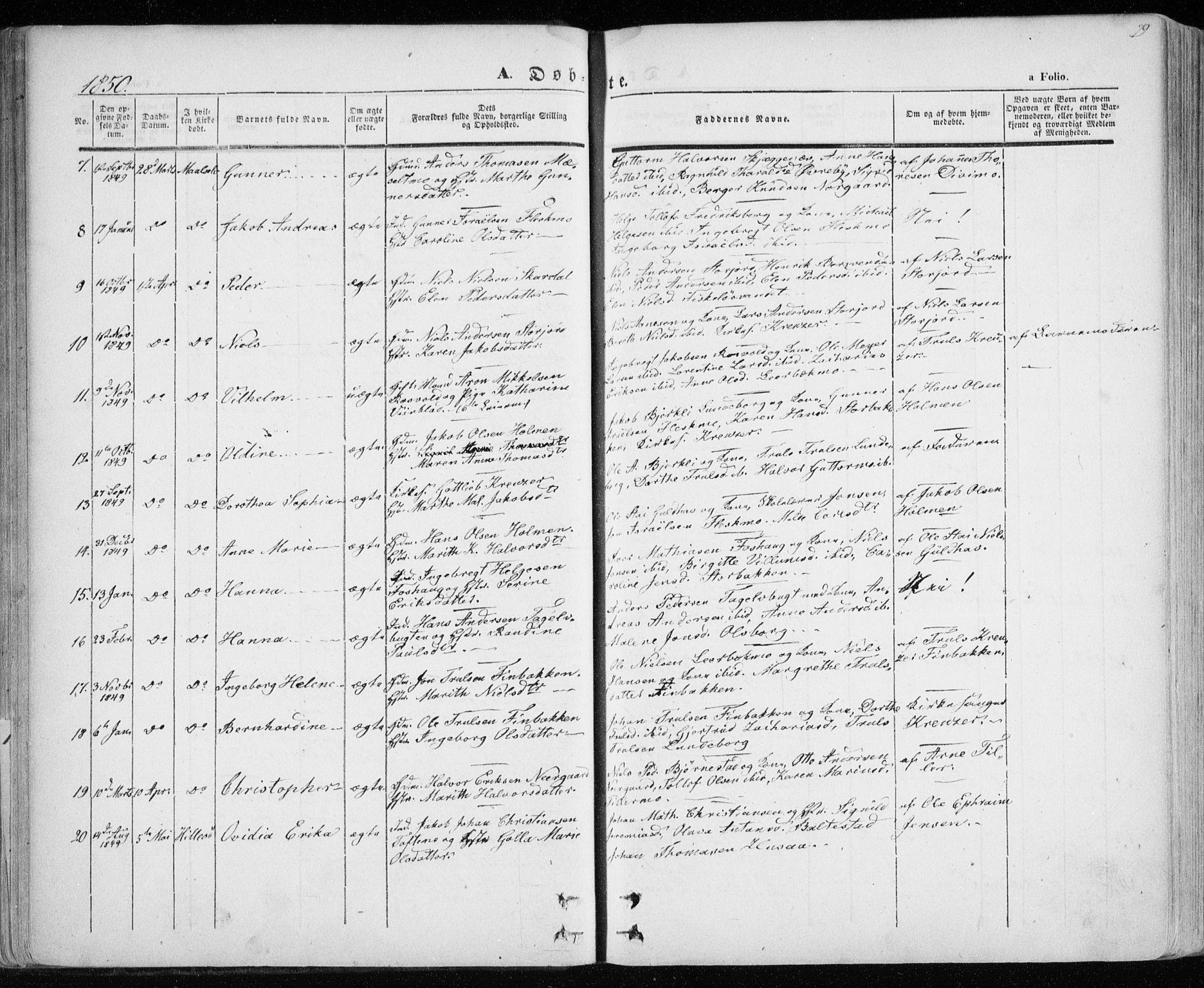 SATØ, Lenvik sokneprestembete, H/Ha: Ministerialbok nr. 6, 1845-1854, s. 79