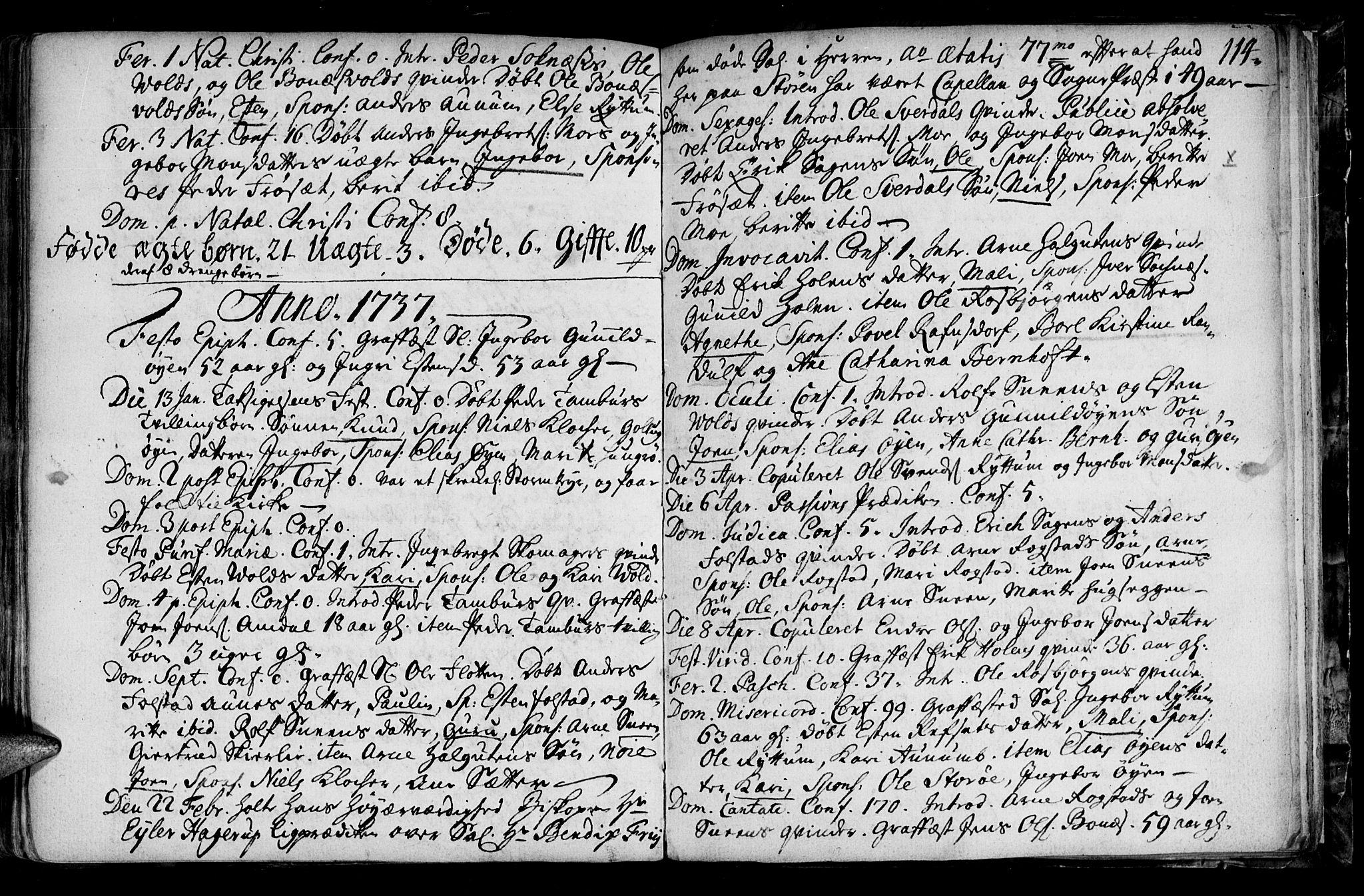 SAT, Ministerialprotokoller, klokkerbøker og fødselsregistre - Sør-Trøndelag, 687/L0990: Ministerialbok nr. 687A01, 1690-1746, s. 114