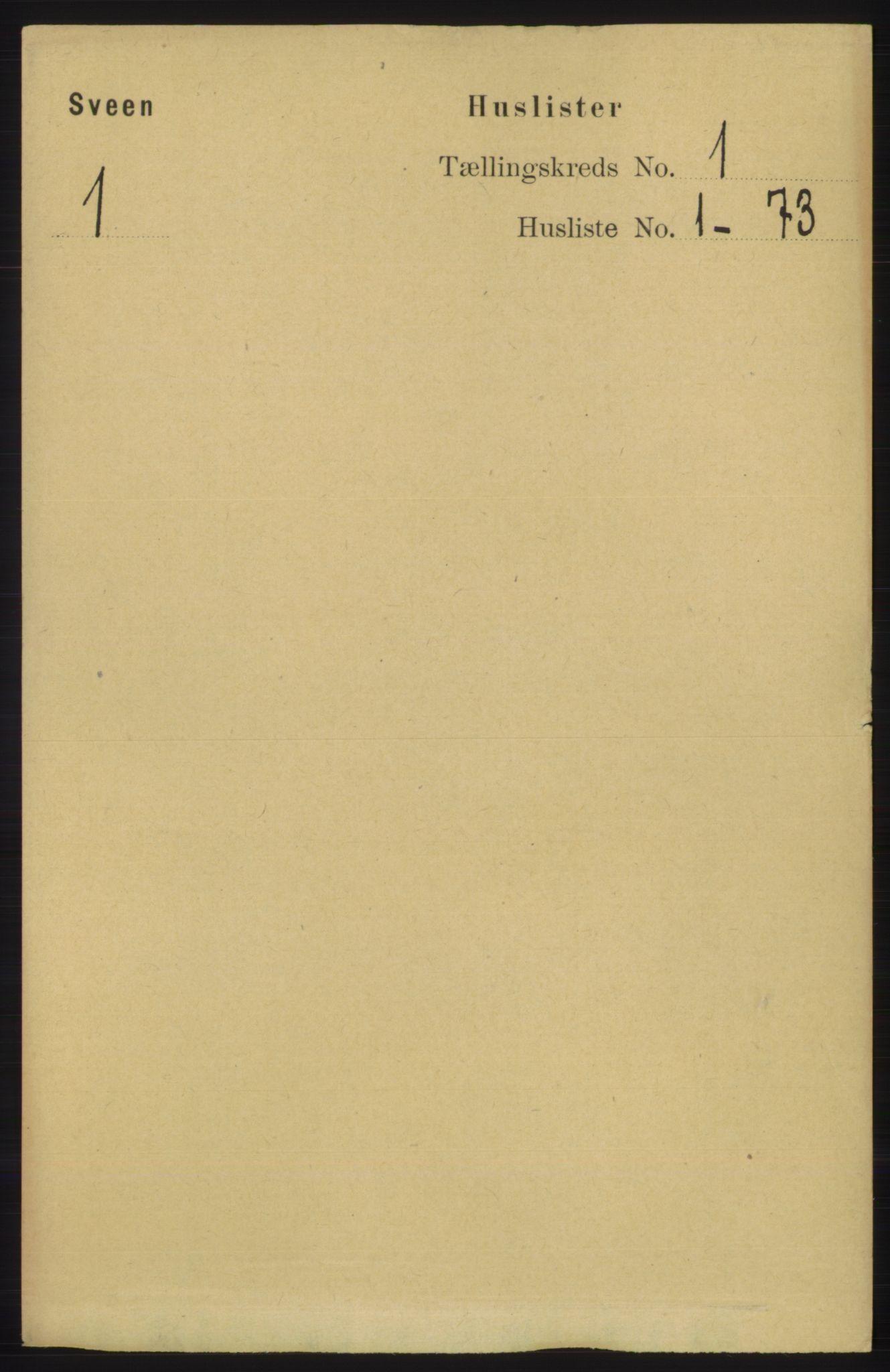 RA, Folketelling 1891 for 1216 Sveio herred, 1891, s. 31