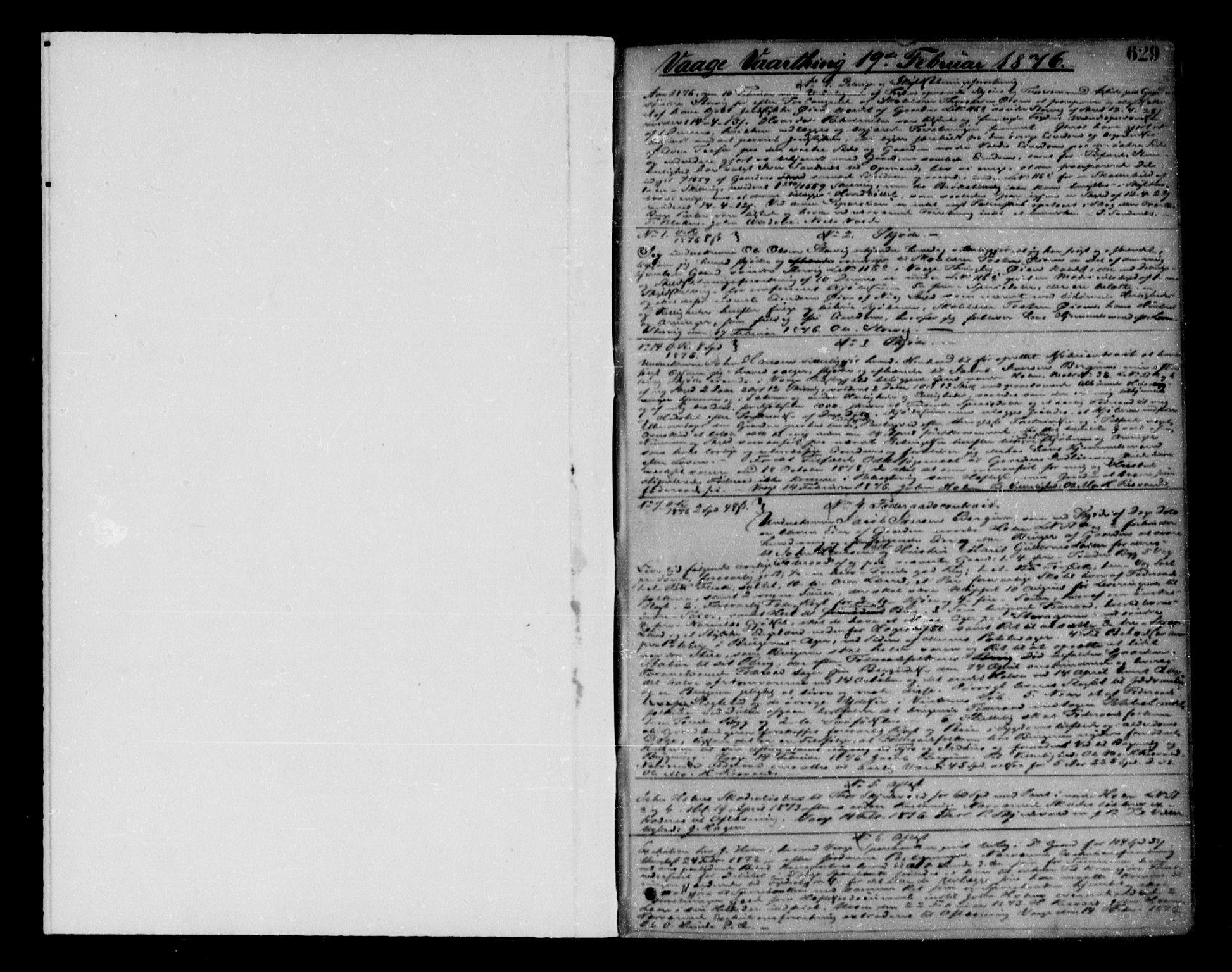 SAH, Nord-Gudbrandsdal tingrett, H/Hb/Hba/L0010B: Pantebok nr. 10b, 1876-1880, s. 629