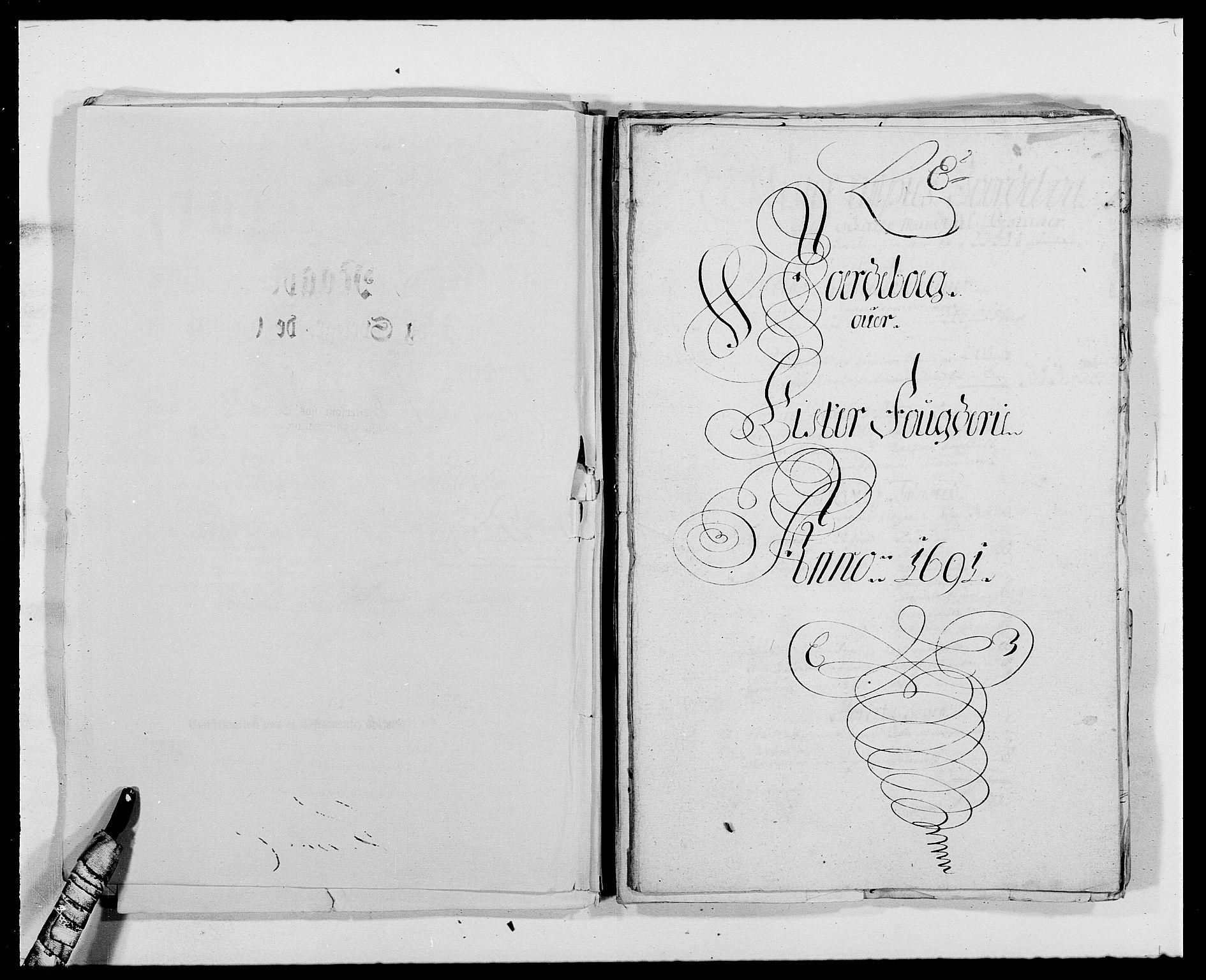 RA, Rentekammeret inntil 1814, Reviderte regnskaper, Fogderegnskap, R41/L2536: Fogderegnskap Lista, 1690-1693, s. 134