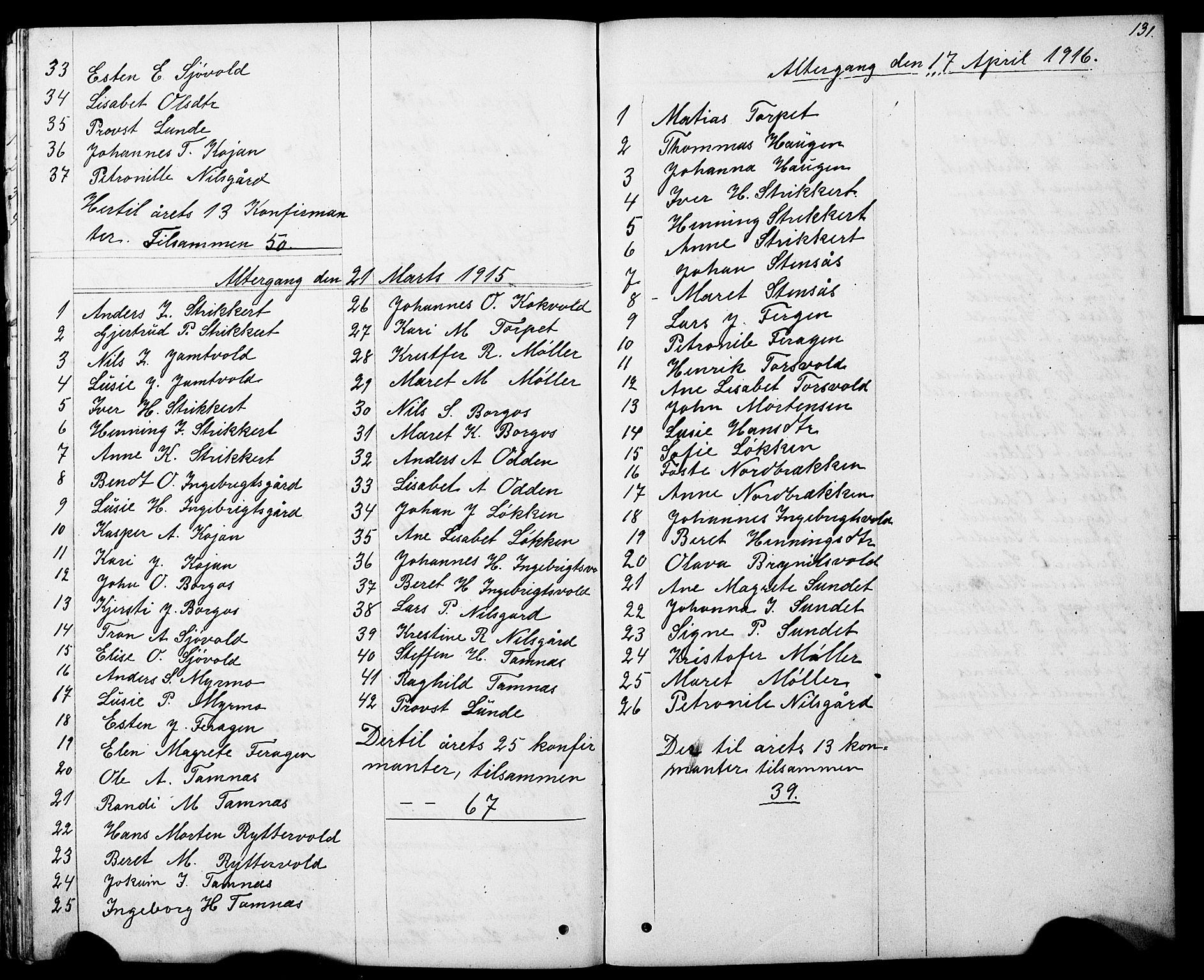 SAT, Ministerialprotokoller, klokkerbøker og fødselsregistre - Sør-Trøndelag, 683/L0949: Klokkerbok nr. 683C01, 1880-1896, s. 131