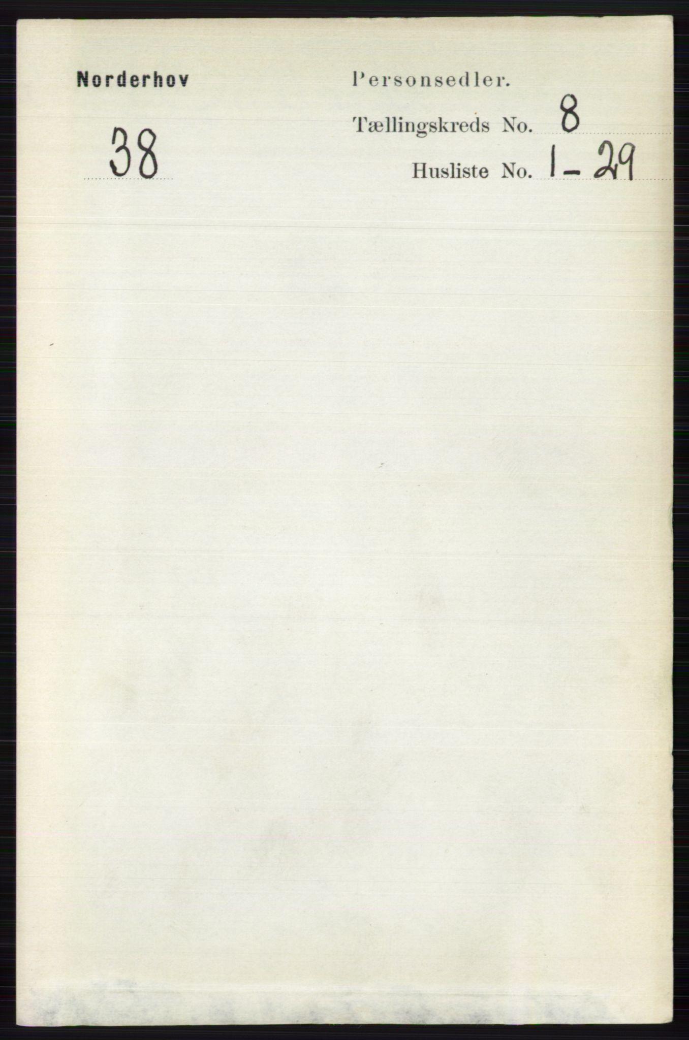 RA, Folketelling 1891 for 0613 Norderhov herred, 1891, s. 5558