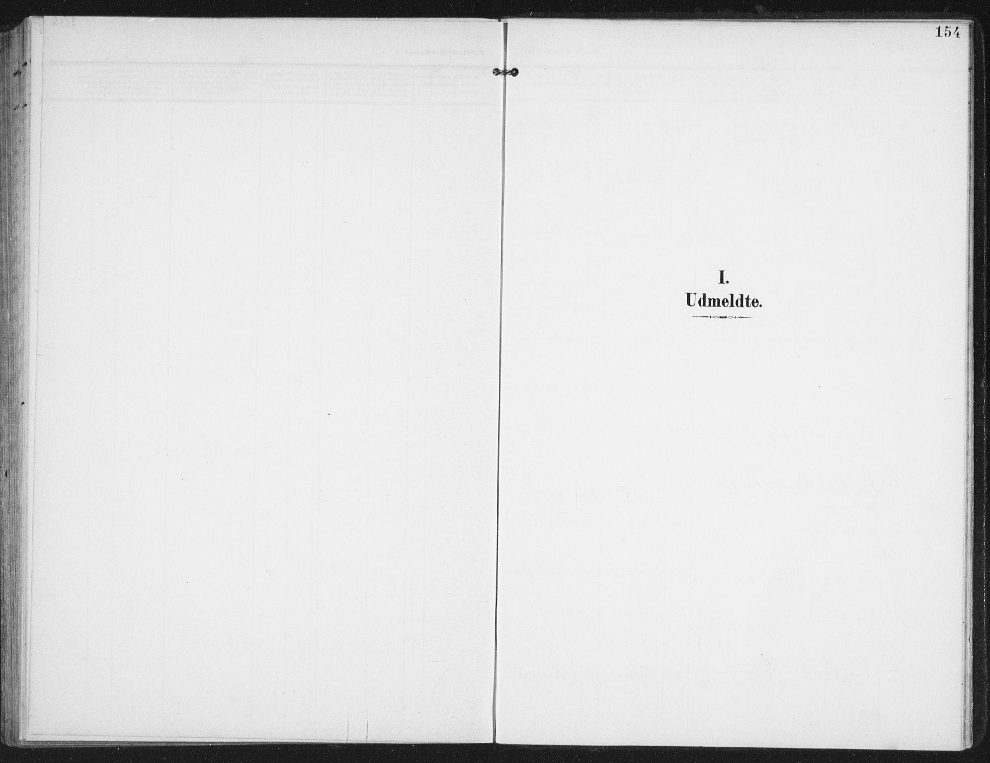 SAT, Ministerialprotokoller, klokkerbøker og fødselsregistre - Nordland, 886/L1221: Ministerialbok nr. 886A03, 1903-1913, s. 154