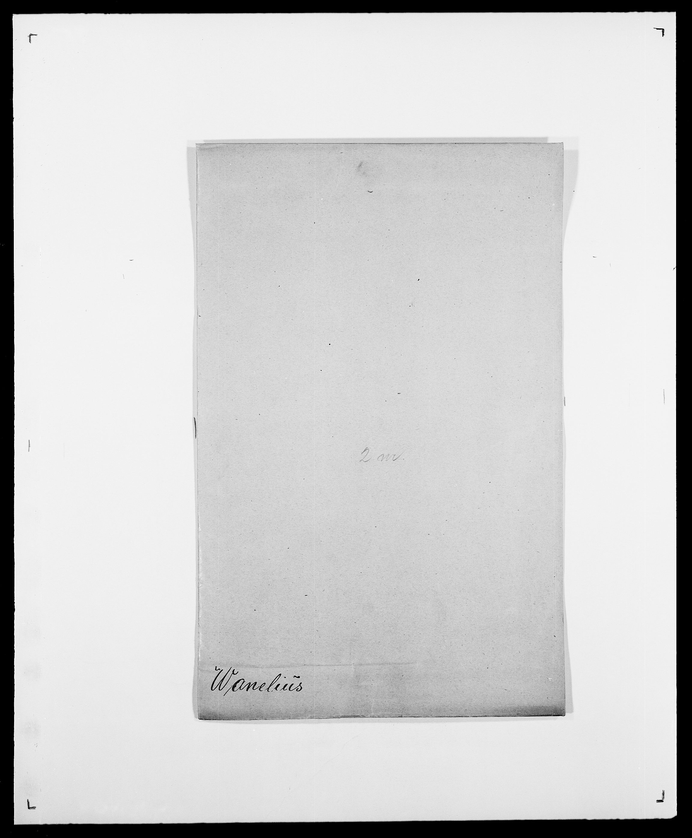 SAO, Delgobe, Charles Antoine - samling, D/Da/L0040: Usgaard - Velund, s. 281