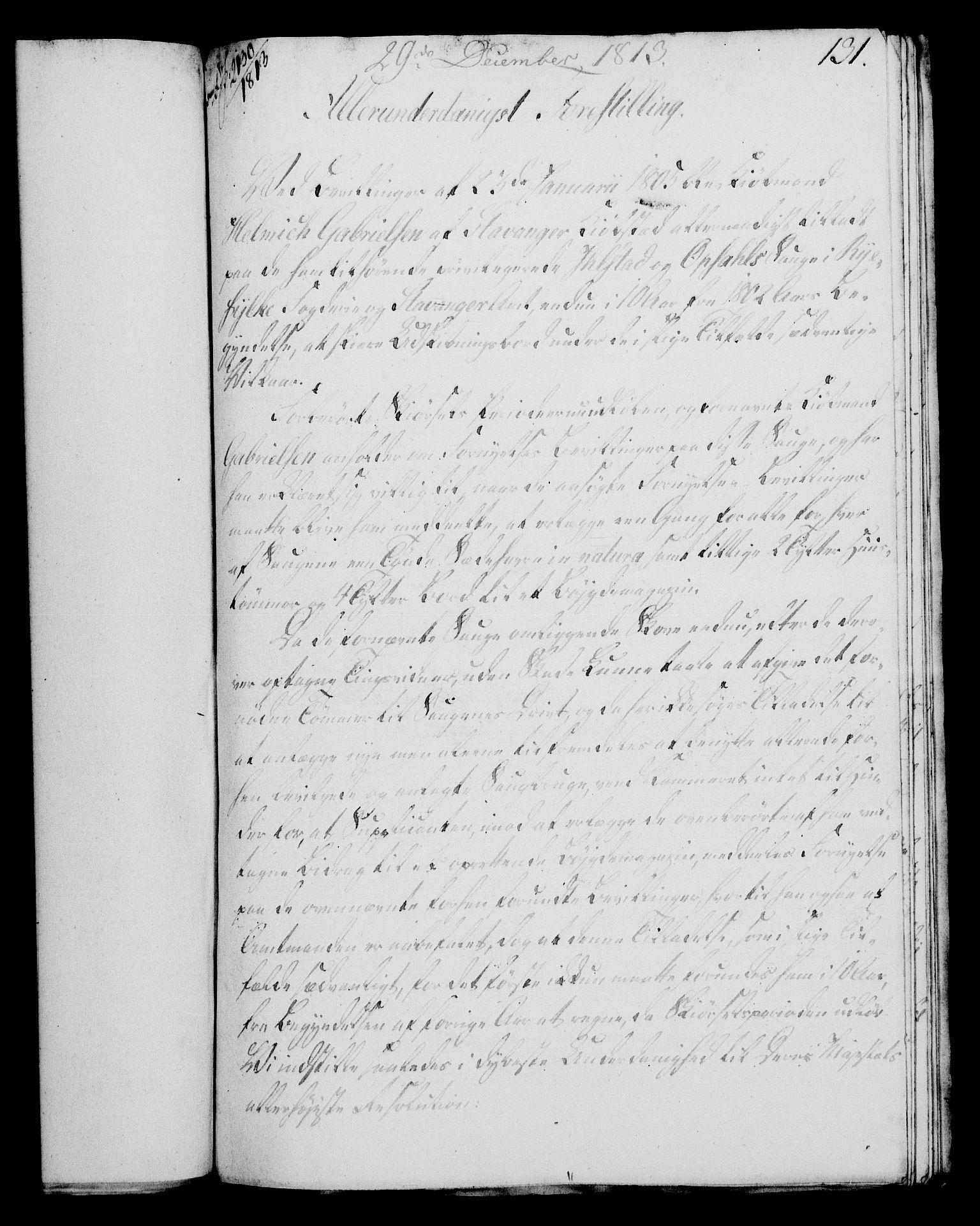 RA, Rentekammeret, Kammerkanselliet, G/Gf/Gfa/L0095: Norsk relasjons- og resolusjonsprotokoll (merket RK 52.95), 1813-1814, s. 540