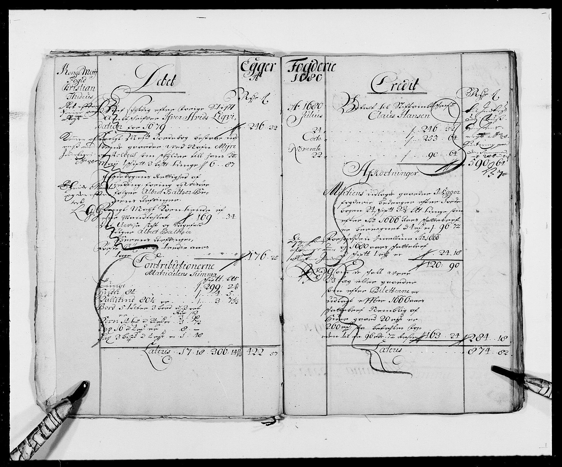 RA, Rentekammeret inntil 1814, Reviderte regnskaper, Fogderegnskap, R26/L1684: Fogderegnskap Eiker, 1679-1686, s. 7