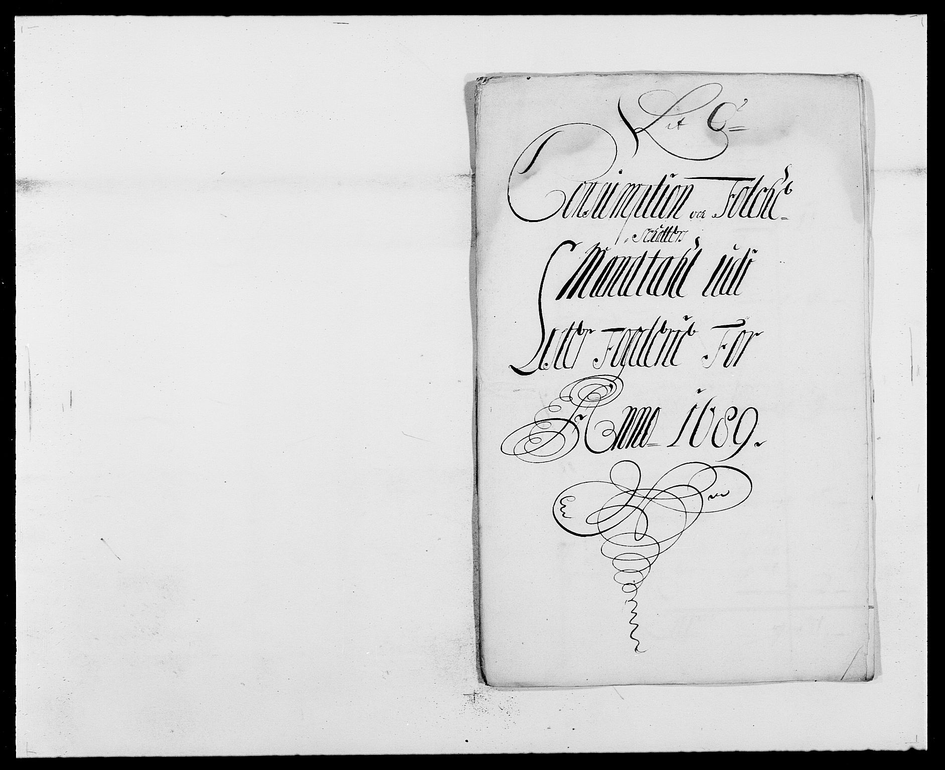RA, Rentekammeret inntil 1814, Reviderte regnskaper, Fogderegnskap, R41/L2535: Fogderegnskap Lista, 1686-1689, s. 16