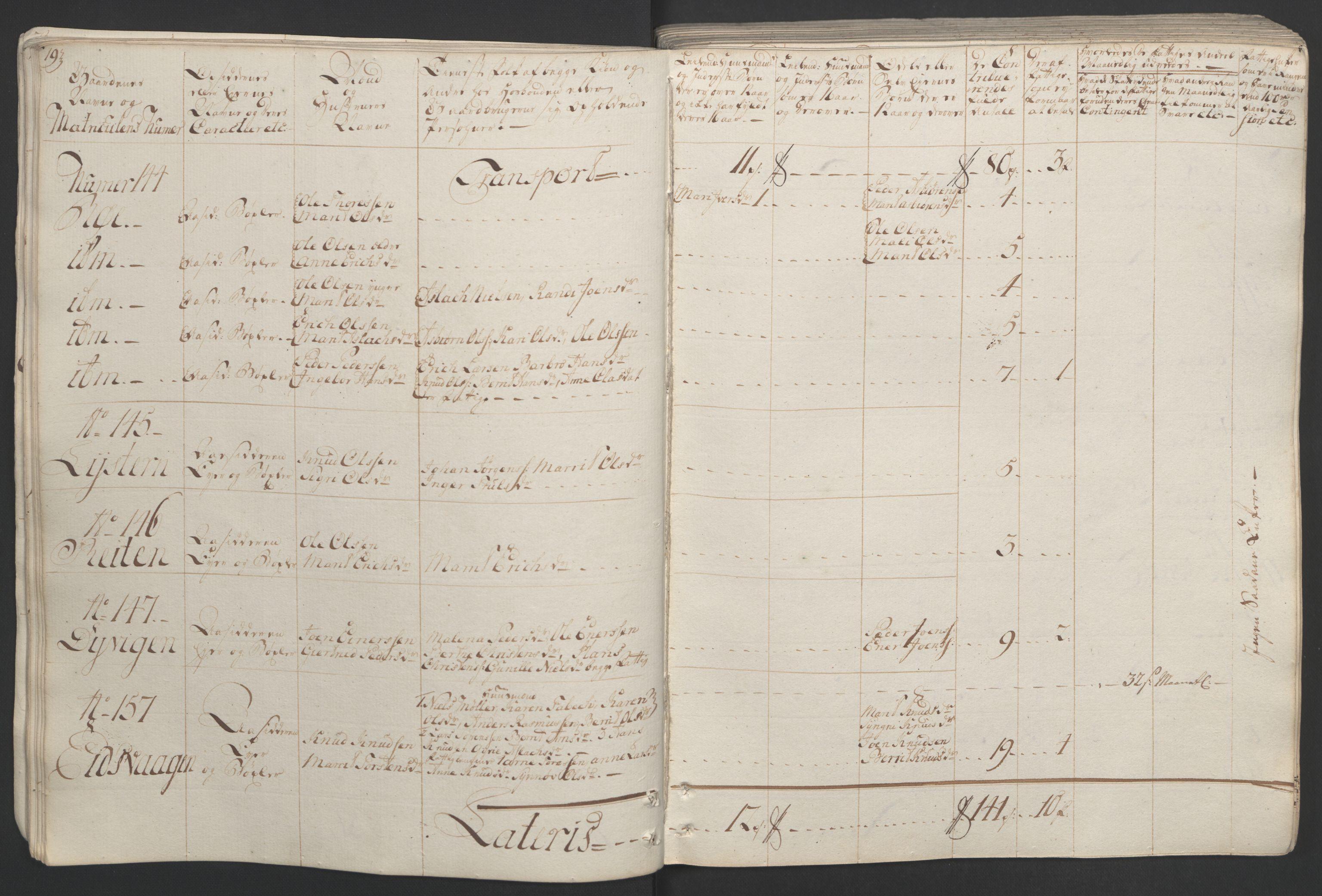 RA, Rentekammeret inntil 1814, Realistisk ordnet avdeling, Ol/L0020: [Gg 10]: Ekstraskatten, 23.09.1762. Romsdal, Strinda, Selbu, Inderøy., 1764, s. 25