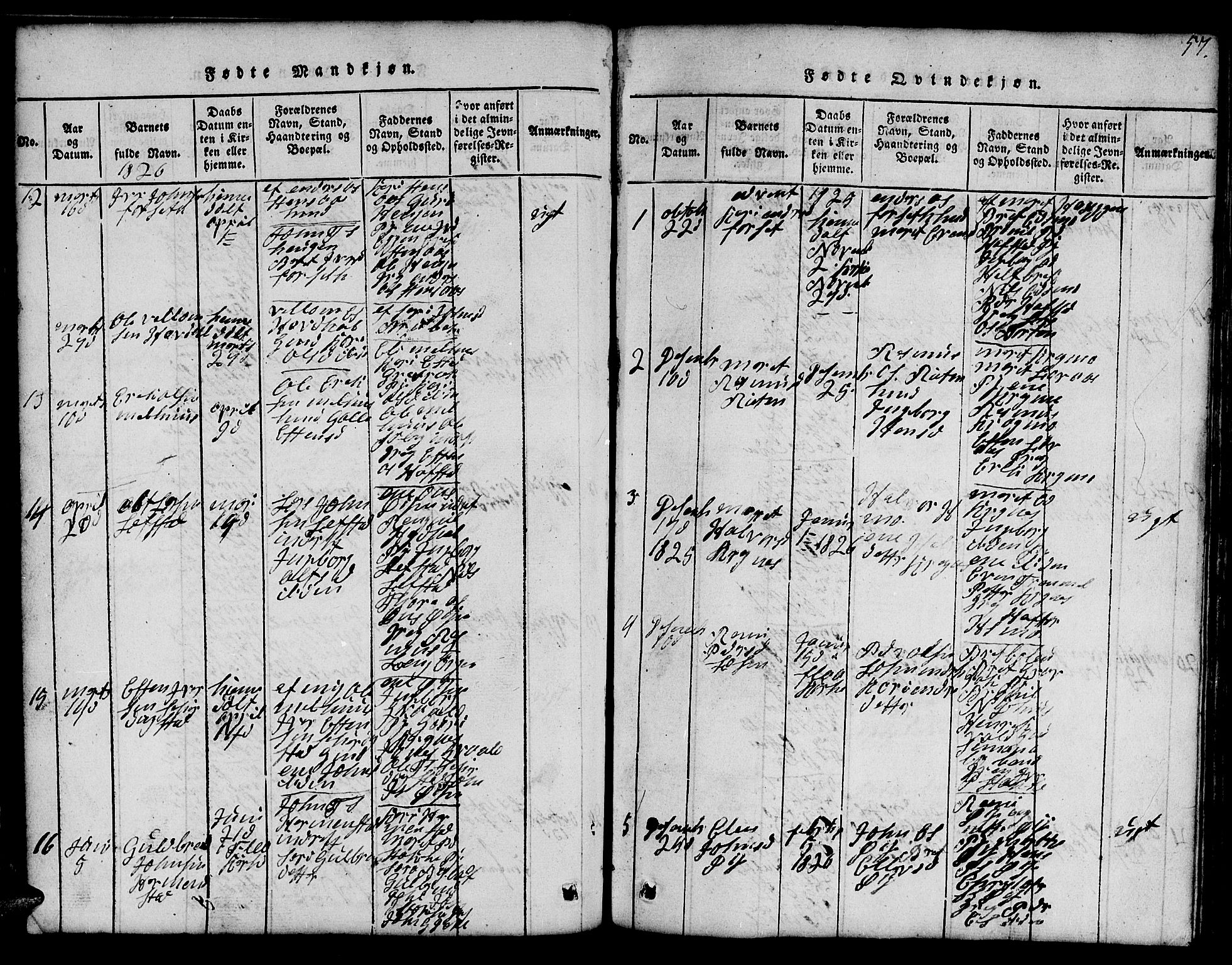 SAT, Ministerialprotokoller, klokkerbøker og fødselsregistre - Sør-Trøndelag, 691/L1092: Klokkerbok nr. 691C03, 1816-1852, s. 57