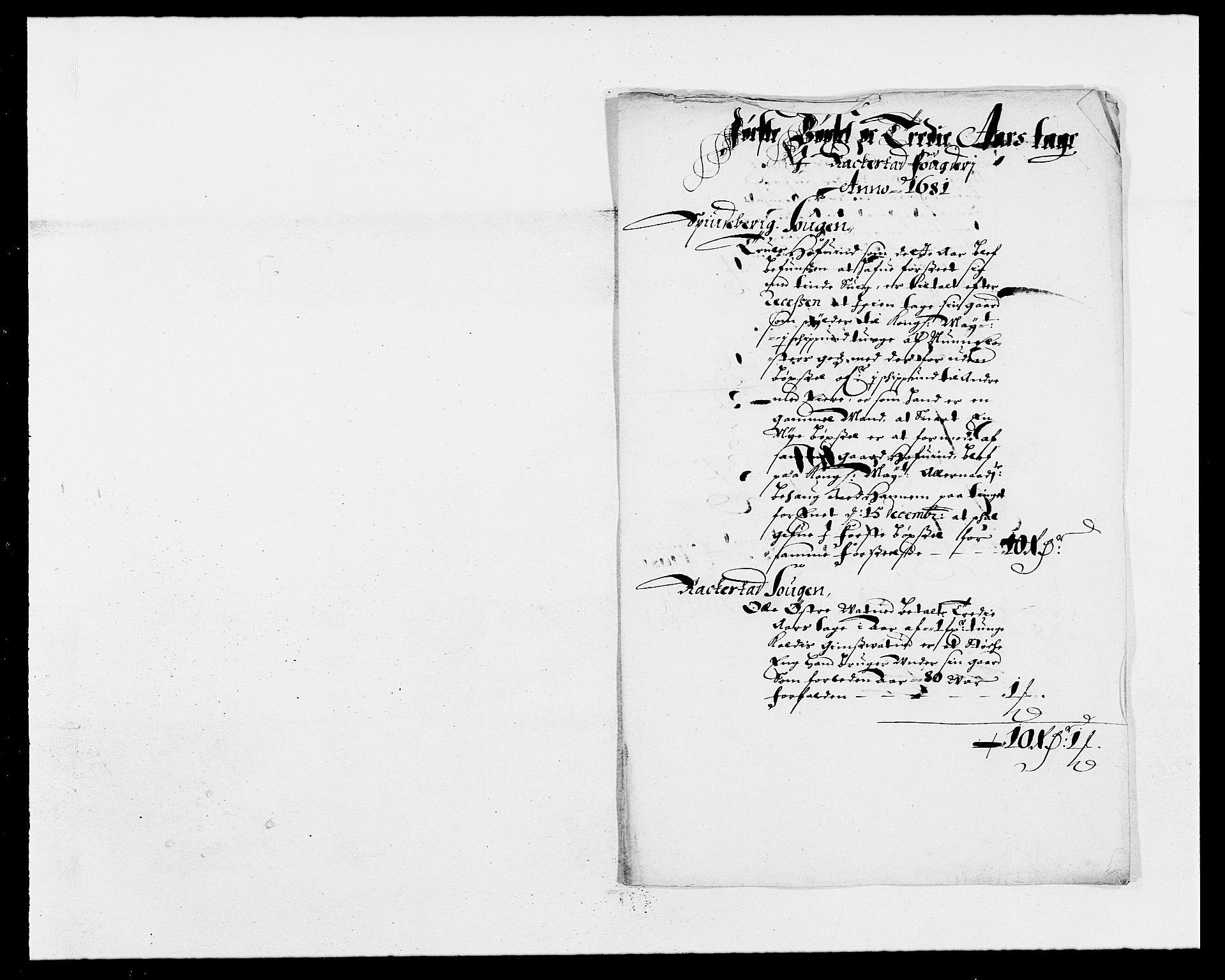 RA, Rentekammeret inntil 1814, Reviderte regnskaper, Fogderegnskap, R05/L0272: Fogderegnskap Rakkestad, 1680-1681, s. 252