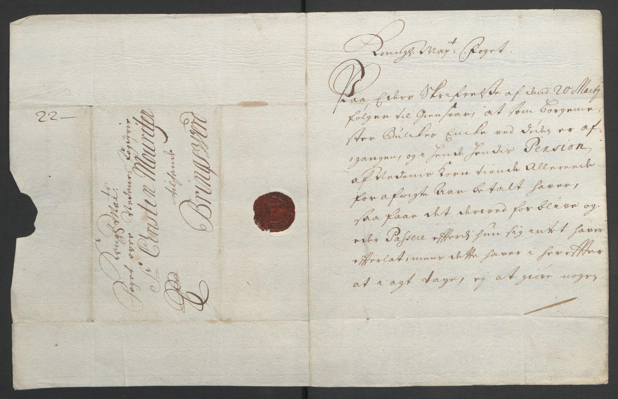 RA, Rentekammeret inntil 1814, Reviderte regnskaper, Fogderegnskap, R39/L2312: Fogderegnskap Nedenes, 1693-1695, s. 183