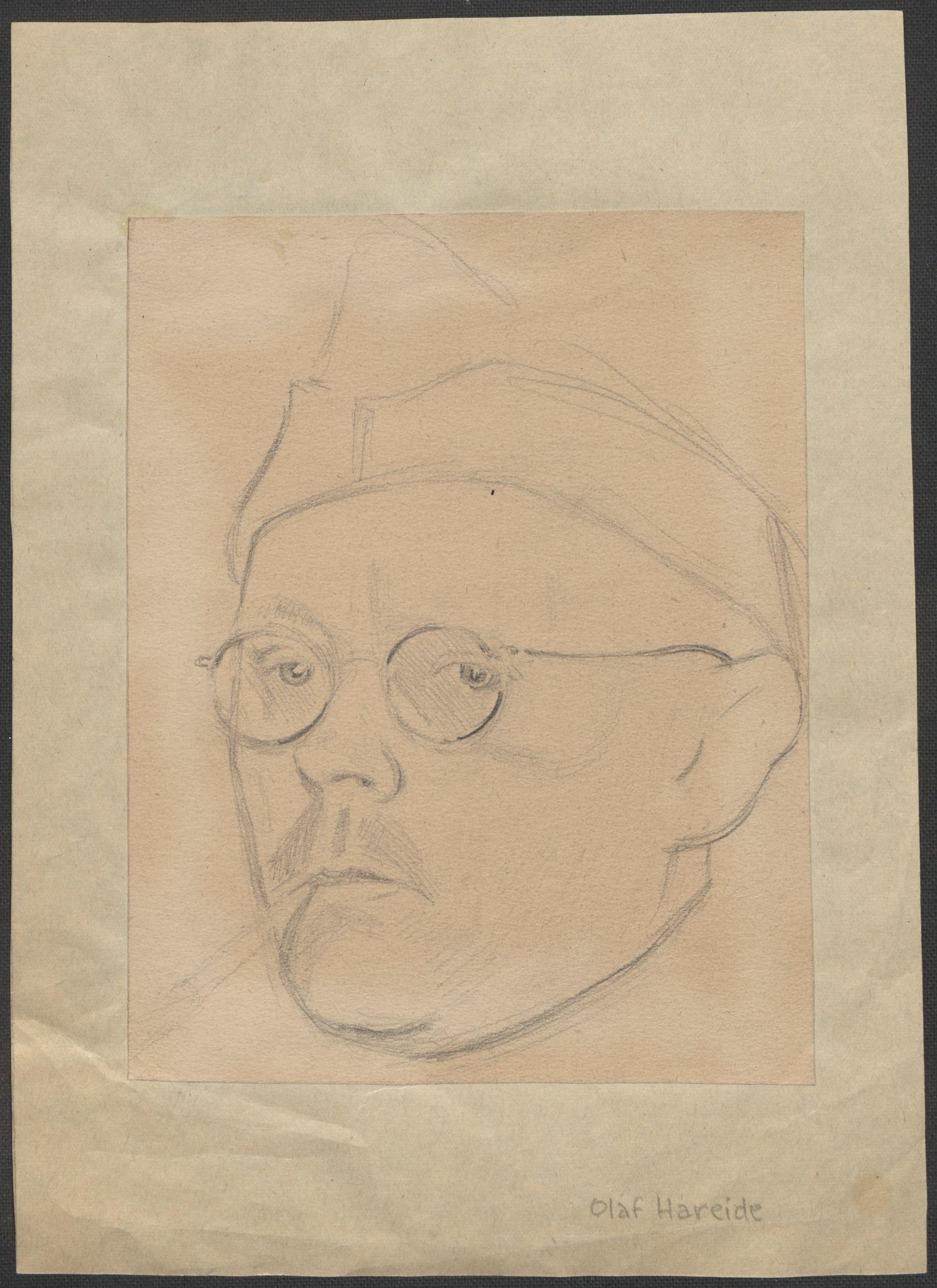 RA, Grøgaard, Joachim, F/L0002: Tegninger og tekster, 1942-1945, s. 8