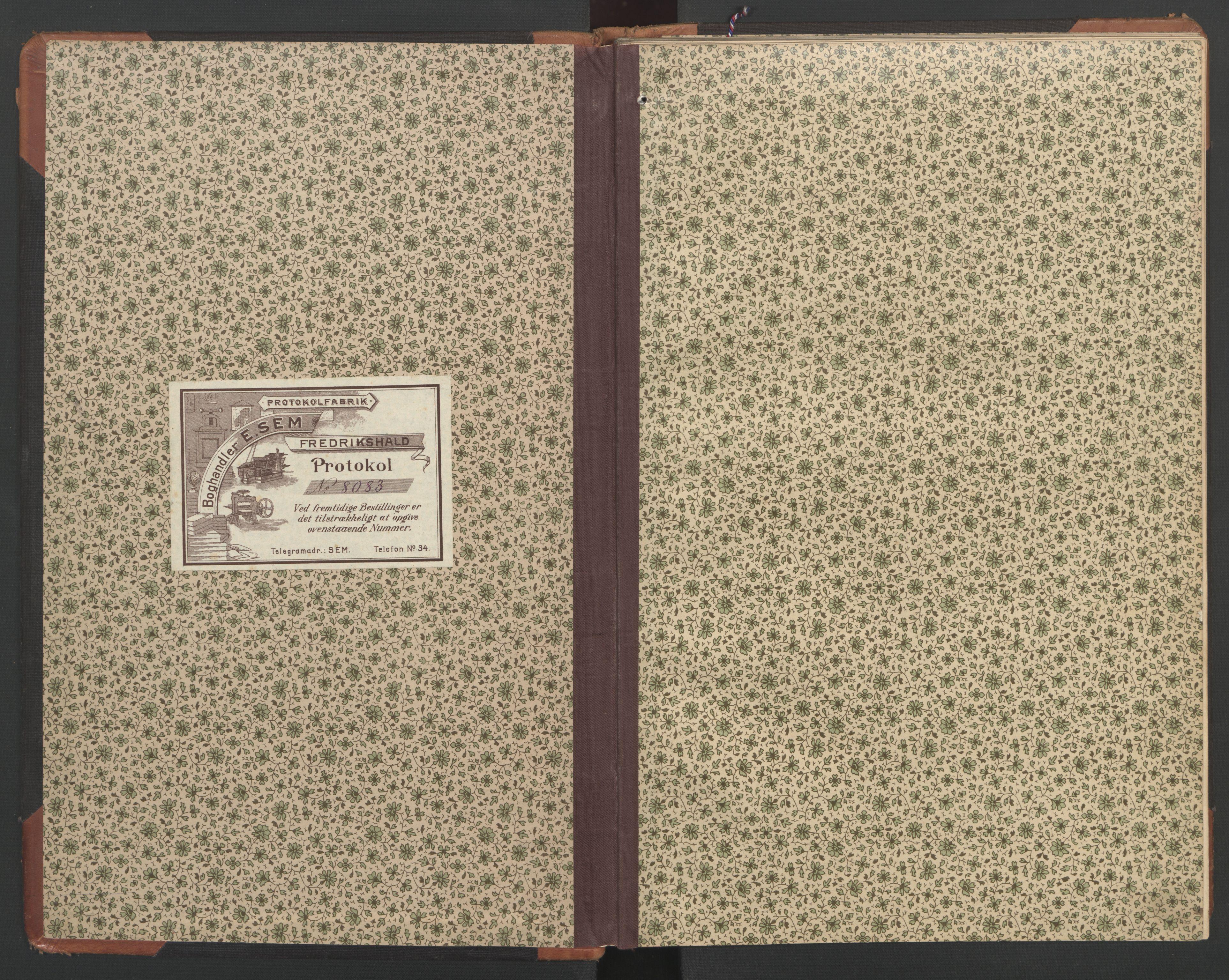 SAT, Ministerialprotokoller, klokkerbøker og fødselsregistre - Nord-Trøndelag, 748/L0465: Klokkerbok nr. 748C01, 1908-1960
