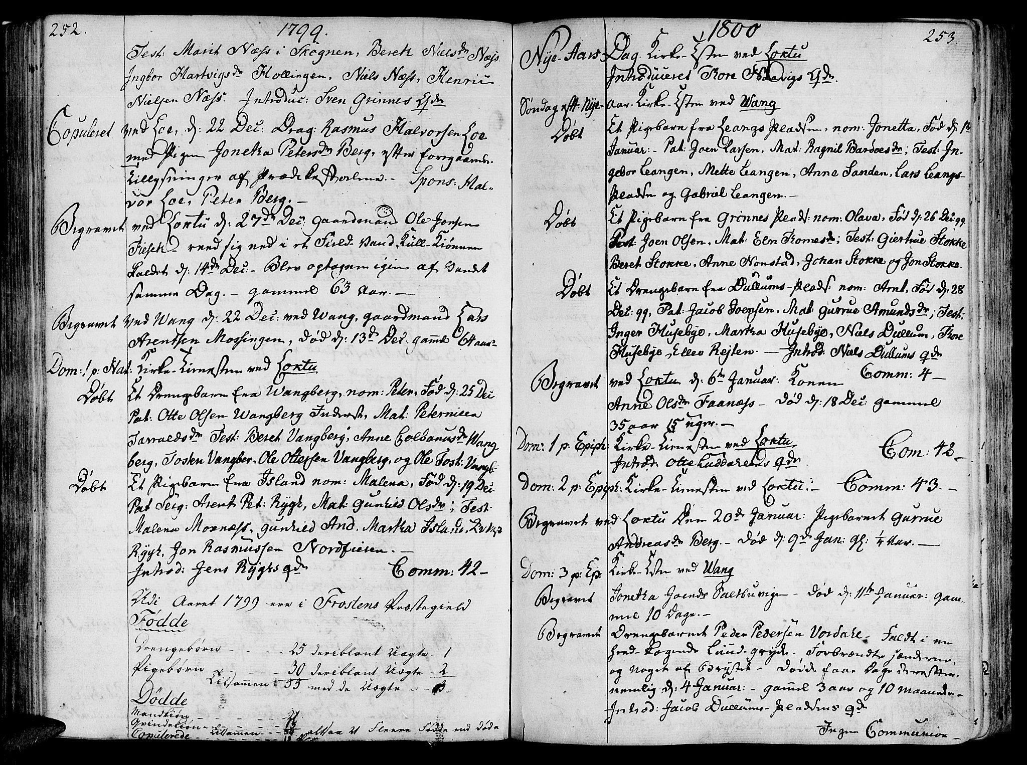 SAT, Ministerialprotokoller, klokkerbøker og fødselsregistre - Nord-Trøndelag, 713/L0110: Ministerialbok nr. 713A02, 1778-1811, s. 252-253