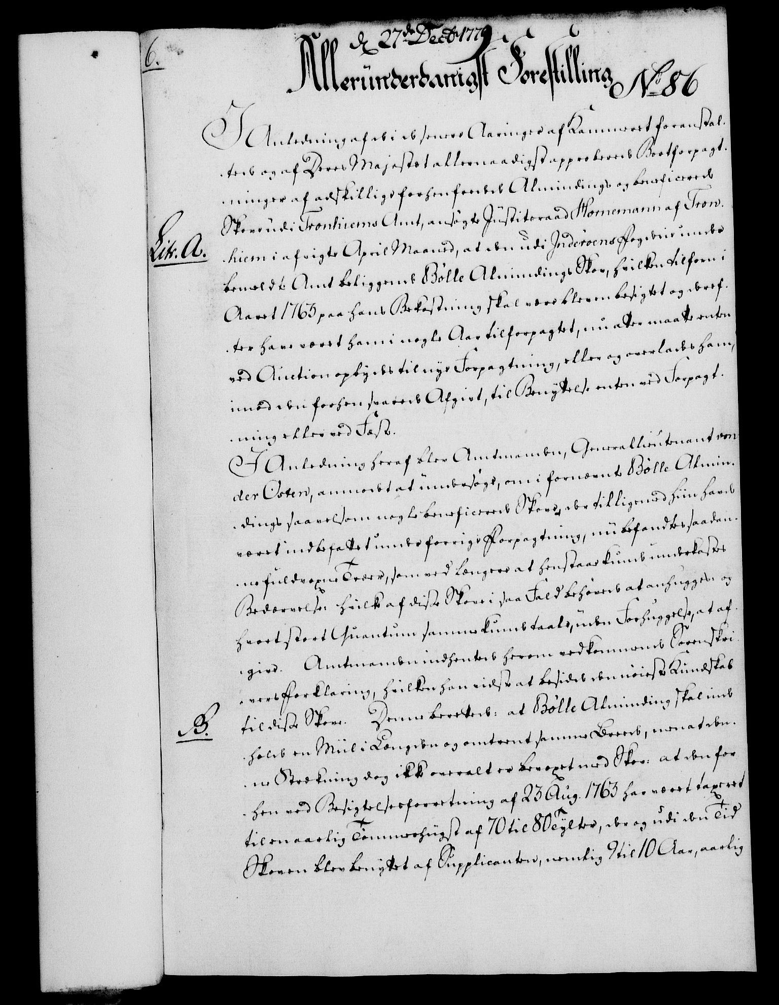 RA, Rentekammeret, Kammerkanselliet, G/Gf/Gfa/L0061: Norsk relasjons- og resolusjonsprotokoll (merket RK 52.61), 1779, s. 610